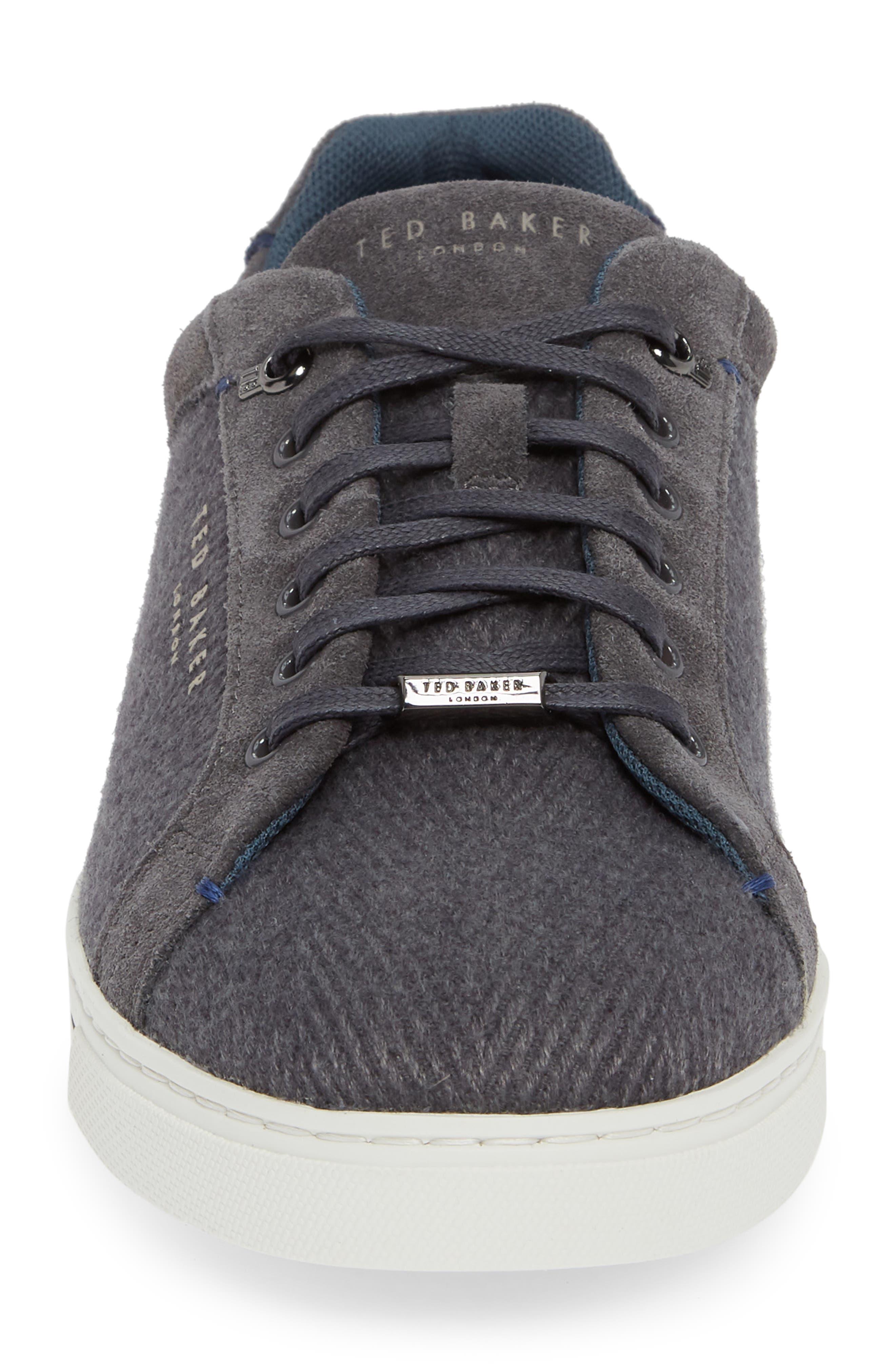 Werill Sneaker,                             Alternate thumbnail 4, color,                             DARK GREY WOOL