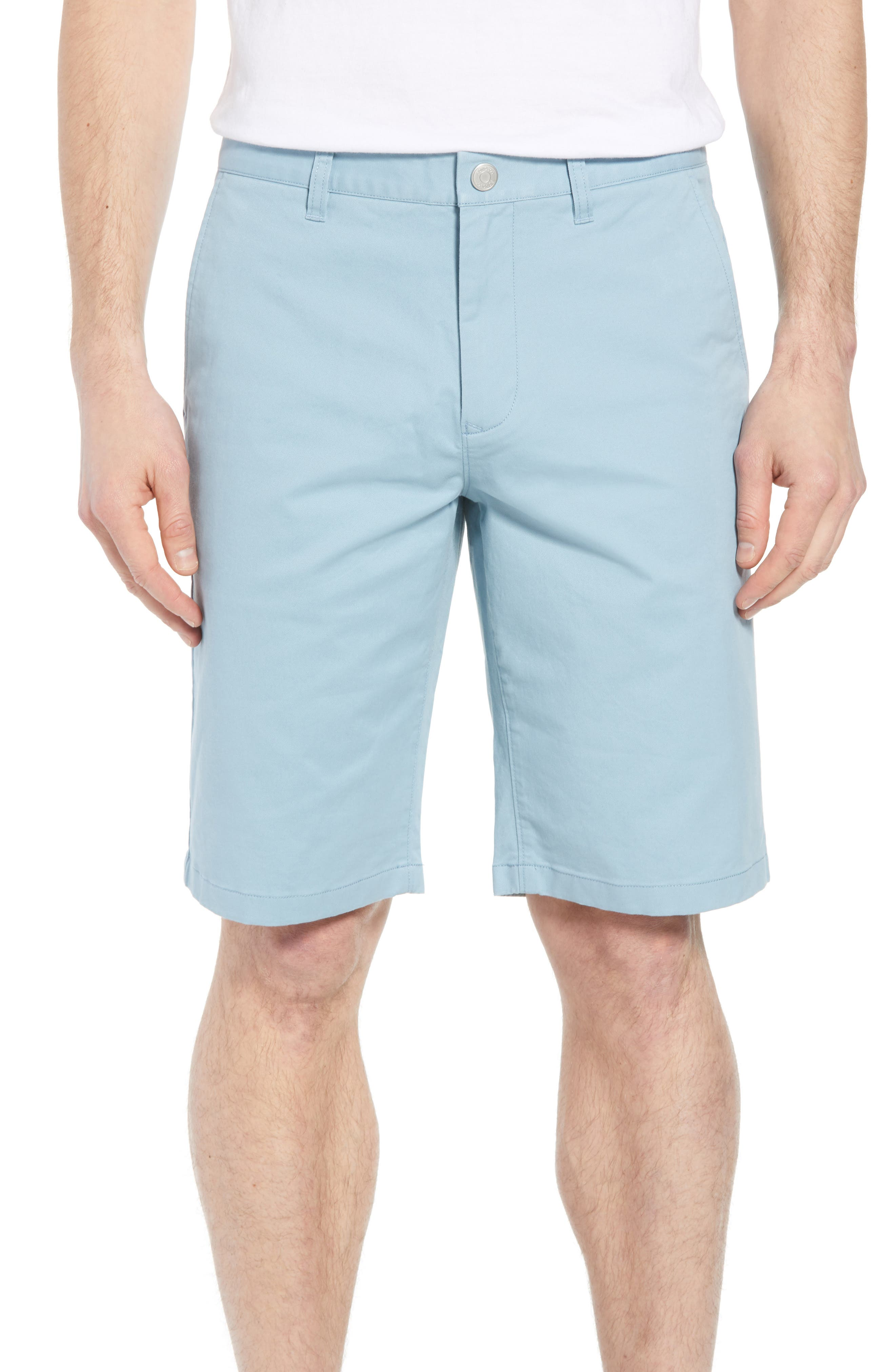 Stretch Washed Chino 11-Inch Shorts,                             Main thumbnail 8, color,
