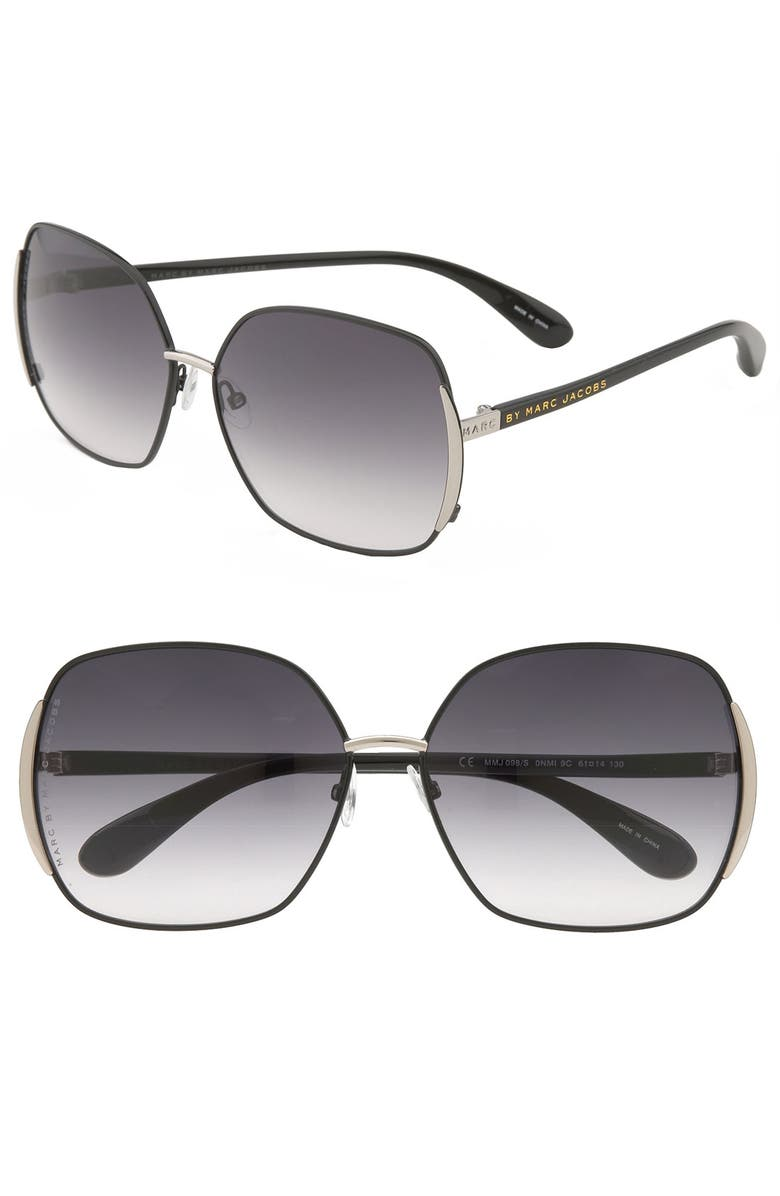 9ac90a29b9 MARC BY MARC JACOBS 61mm Vintage Inspired Oversized Sunglasses ...
