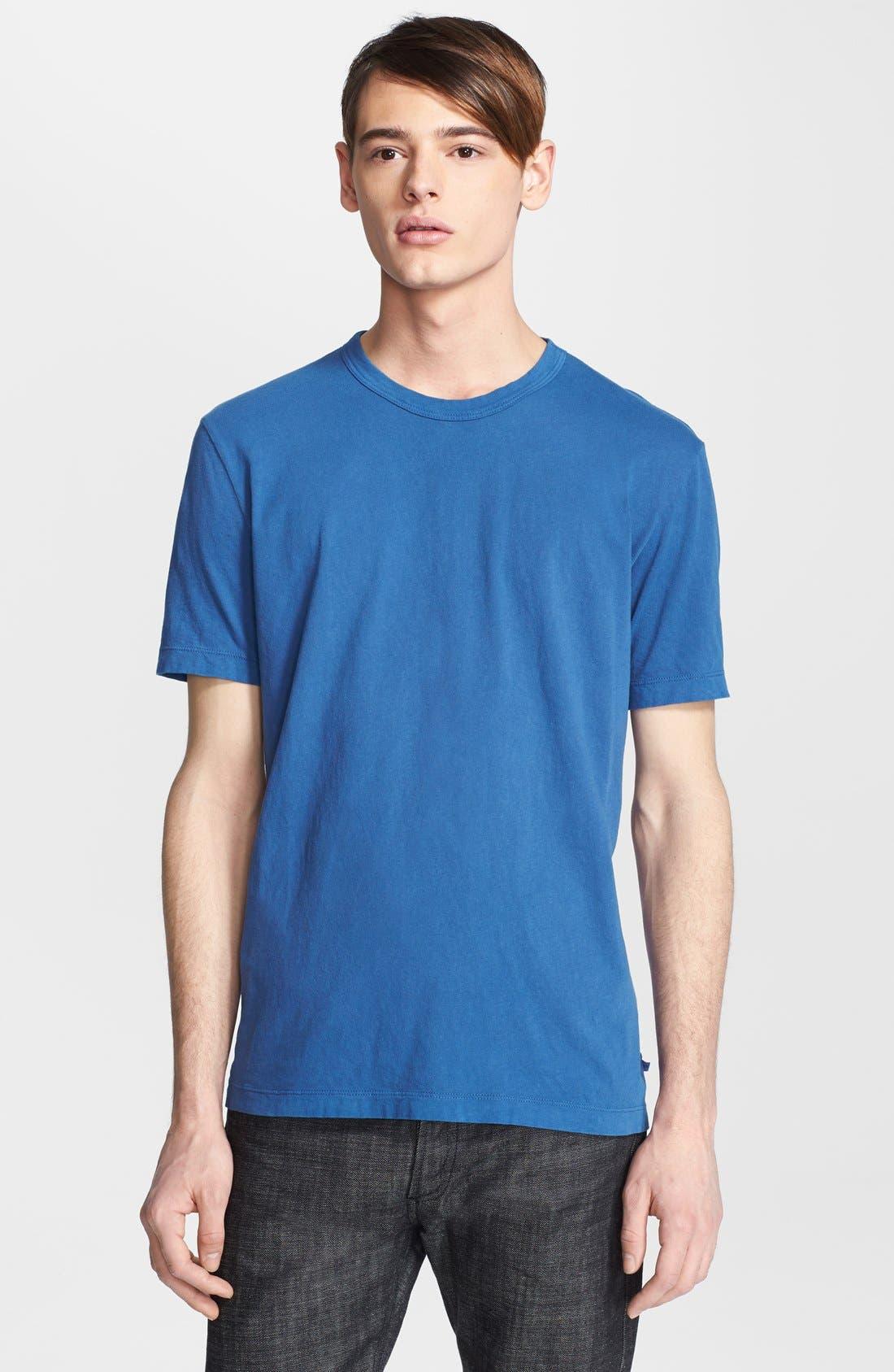 Crewneck Jersey T-Shirt,                             Main thumbnail 75, color,