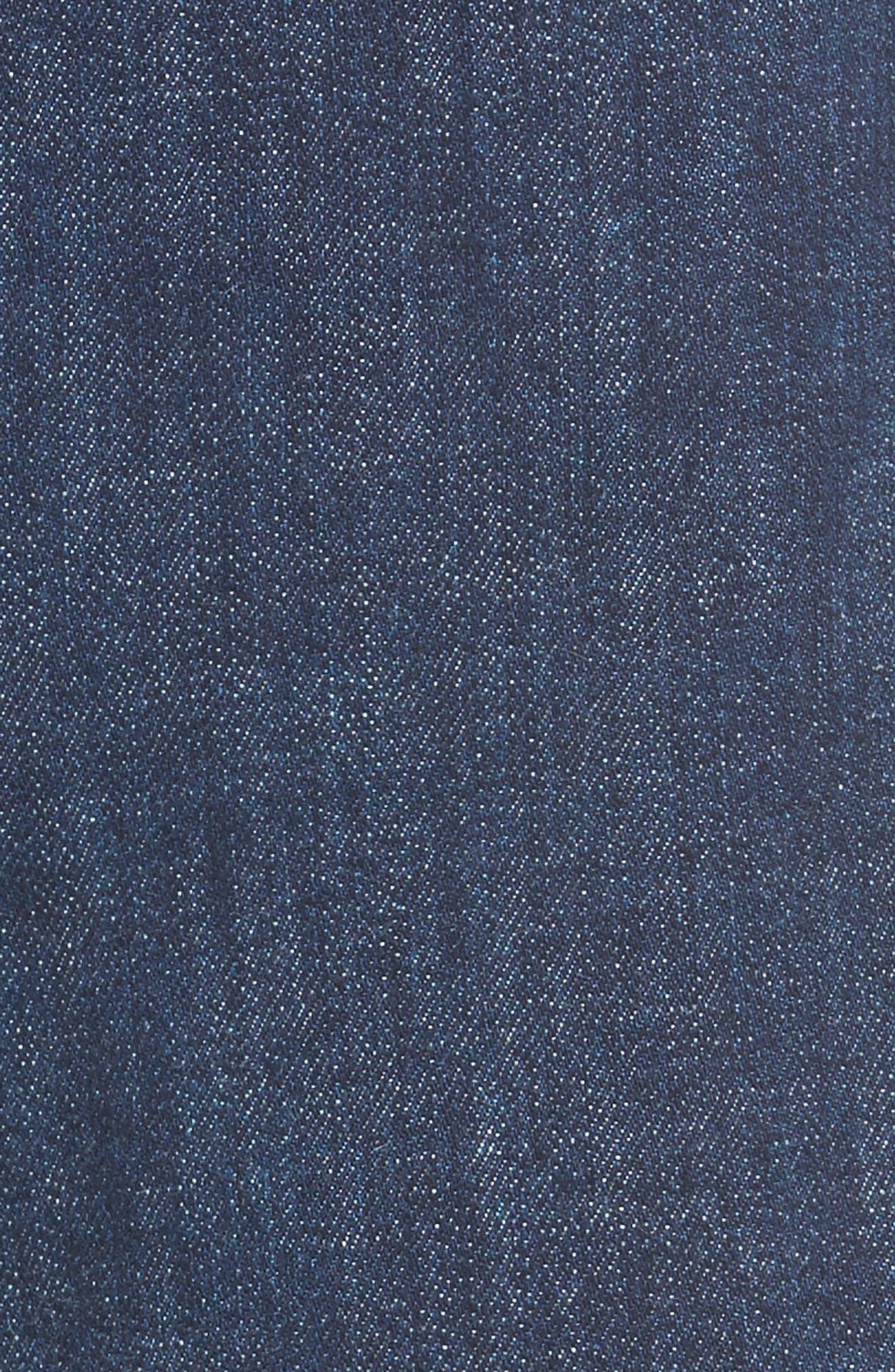 San Fran Super Flare Denim Pants,                             Alternate thumbnail 5, color,                             400