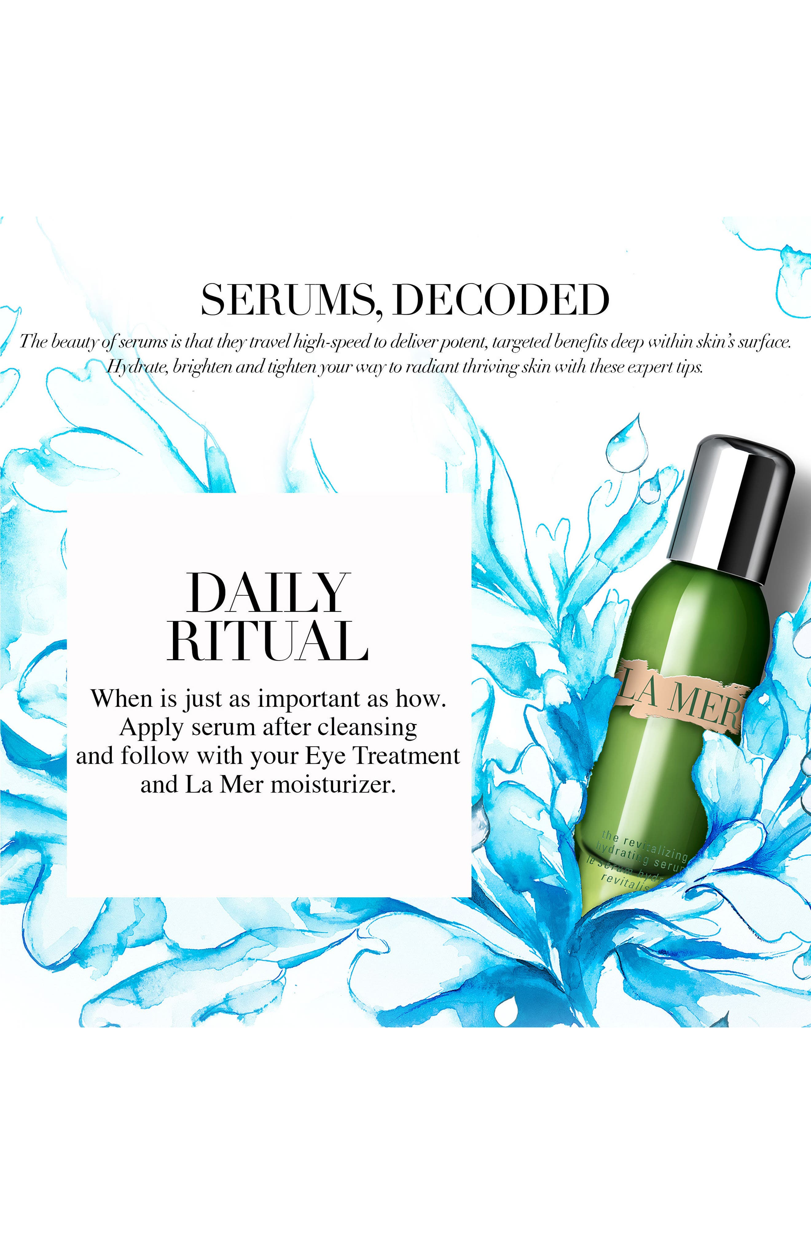 The Revitalizing Hydrating Serum,                             Alternate thumbnail 5, color,                             NO COLOR