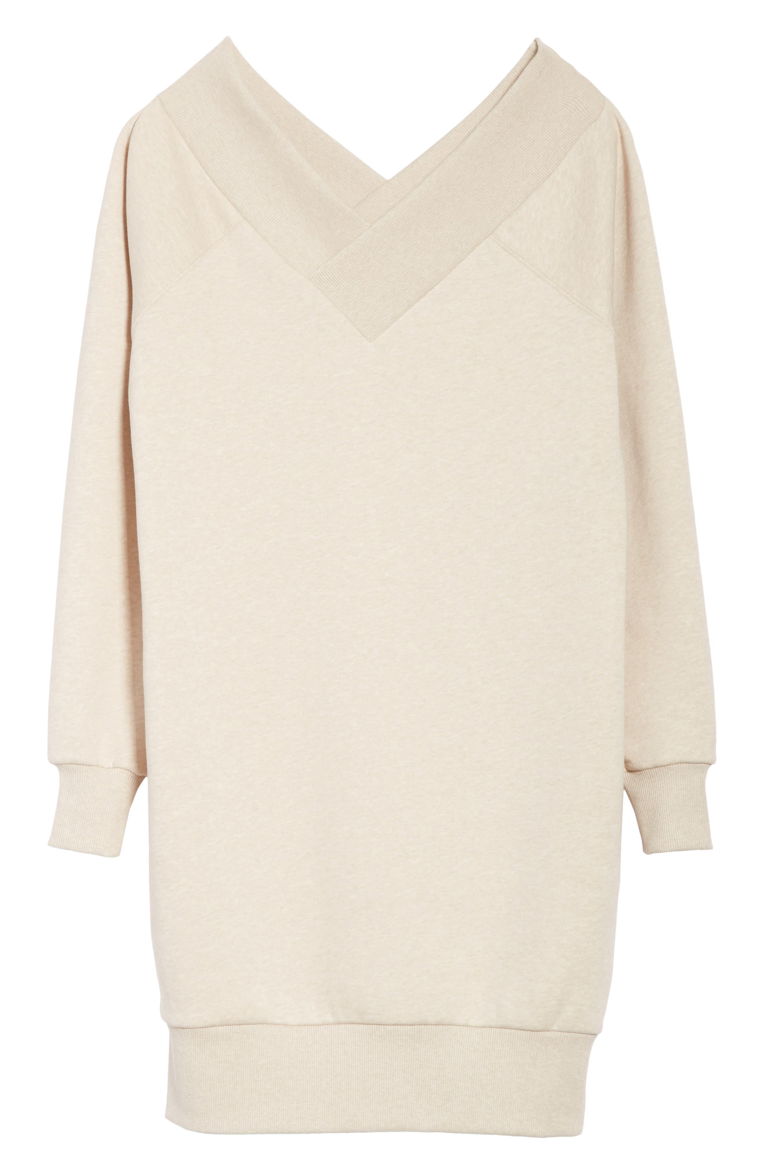 Taro Sweatshirt Dress,                             Alternate thumbnail 6, color,                             250