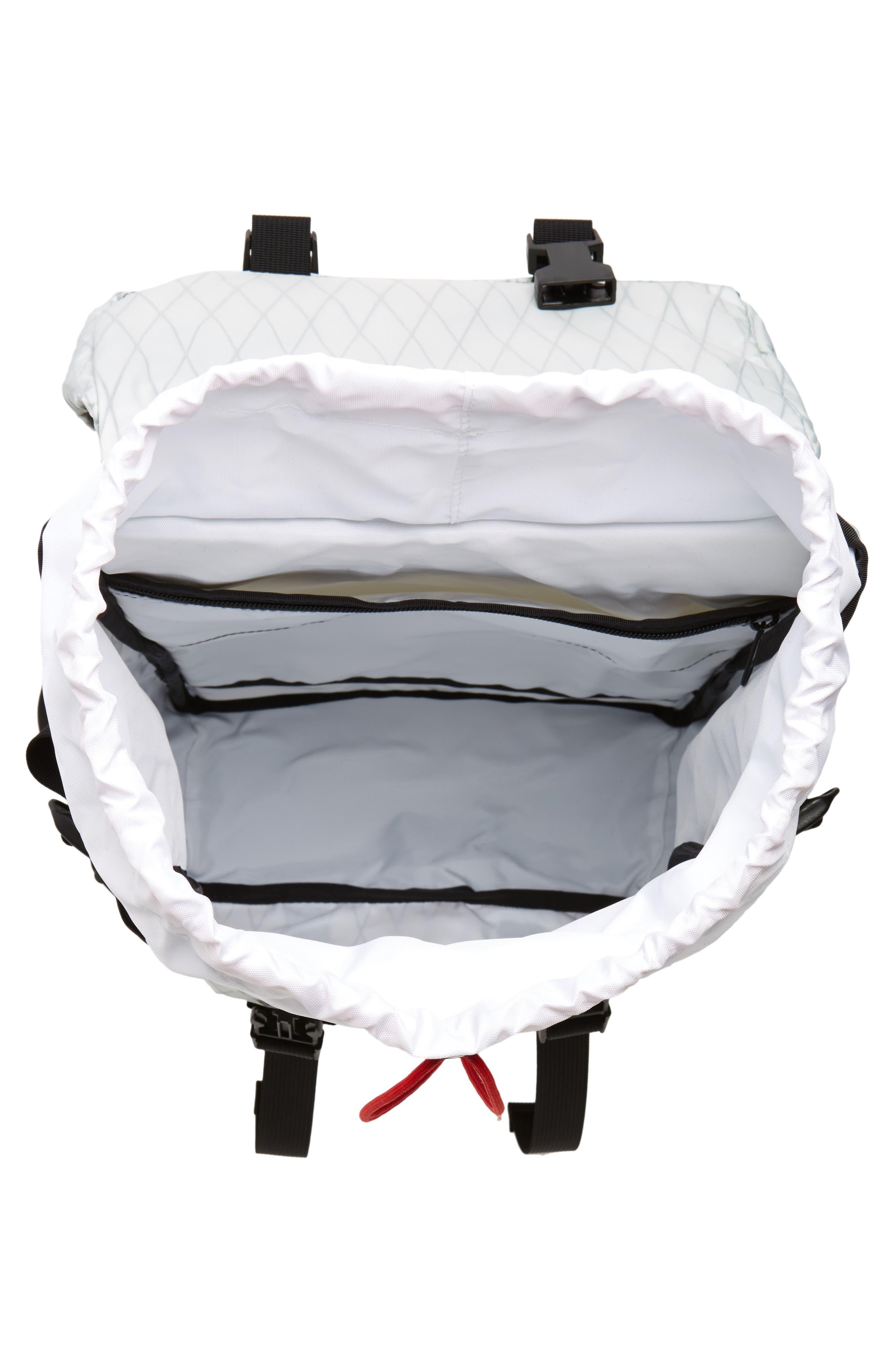 Klettersack Backpack,                             Alternate thumbnail 4, color,                             X-PACK/ BALLISTIC BLACK