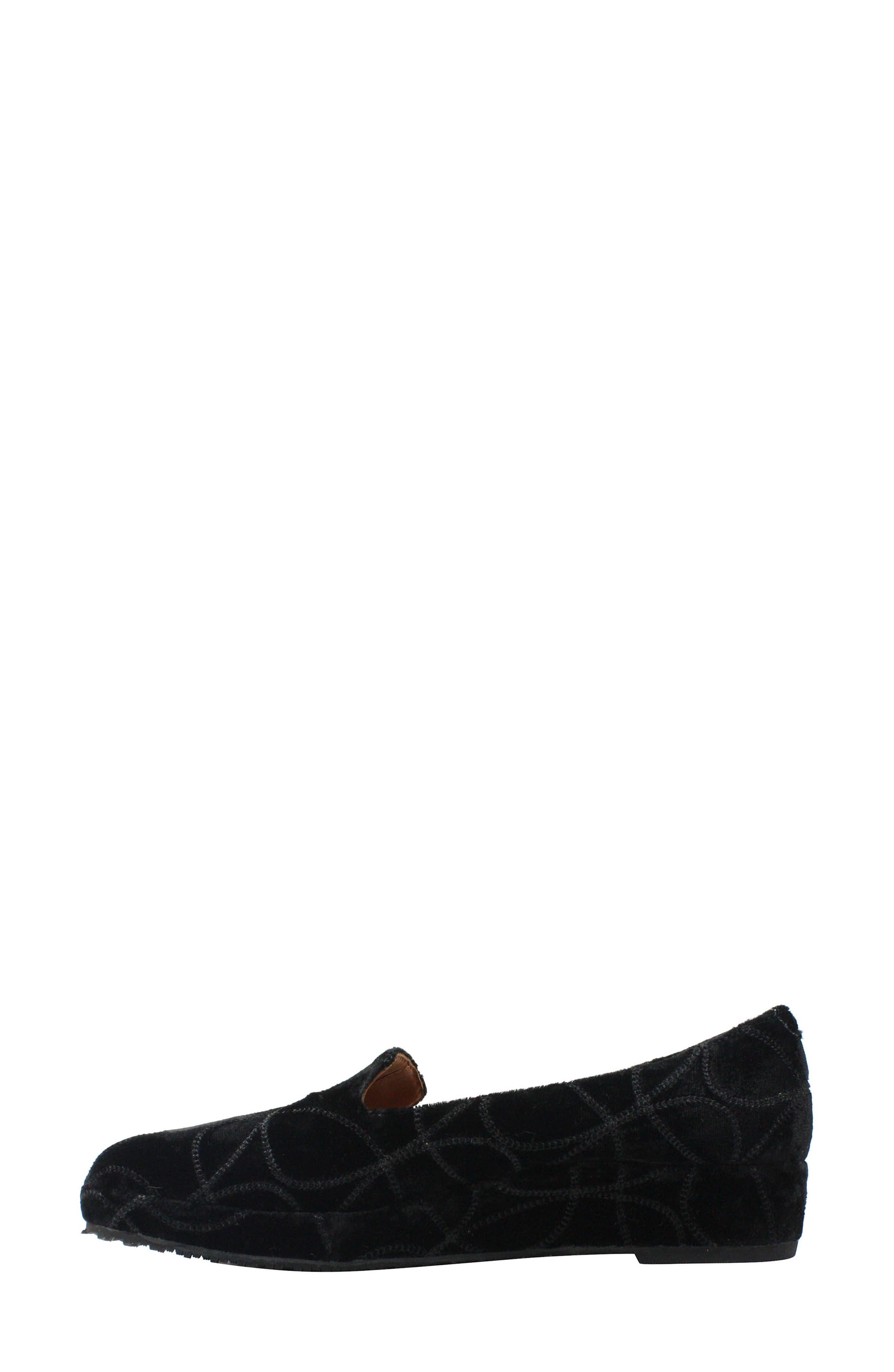 Carsoli Wedge Loafer,                             Alternate thumbnail 2, color,                             BLACK VELVET