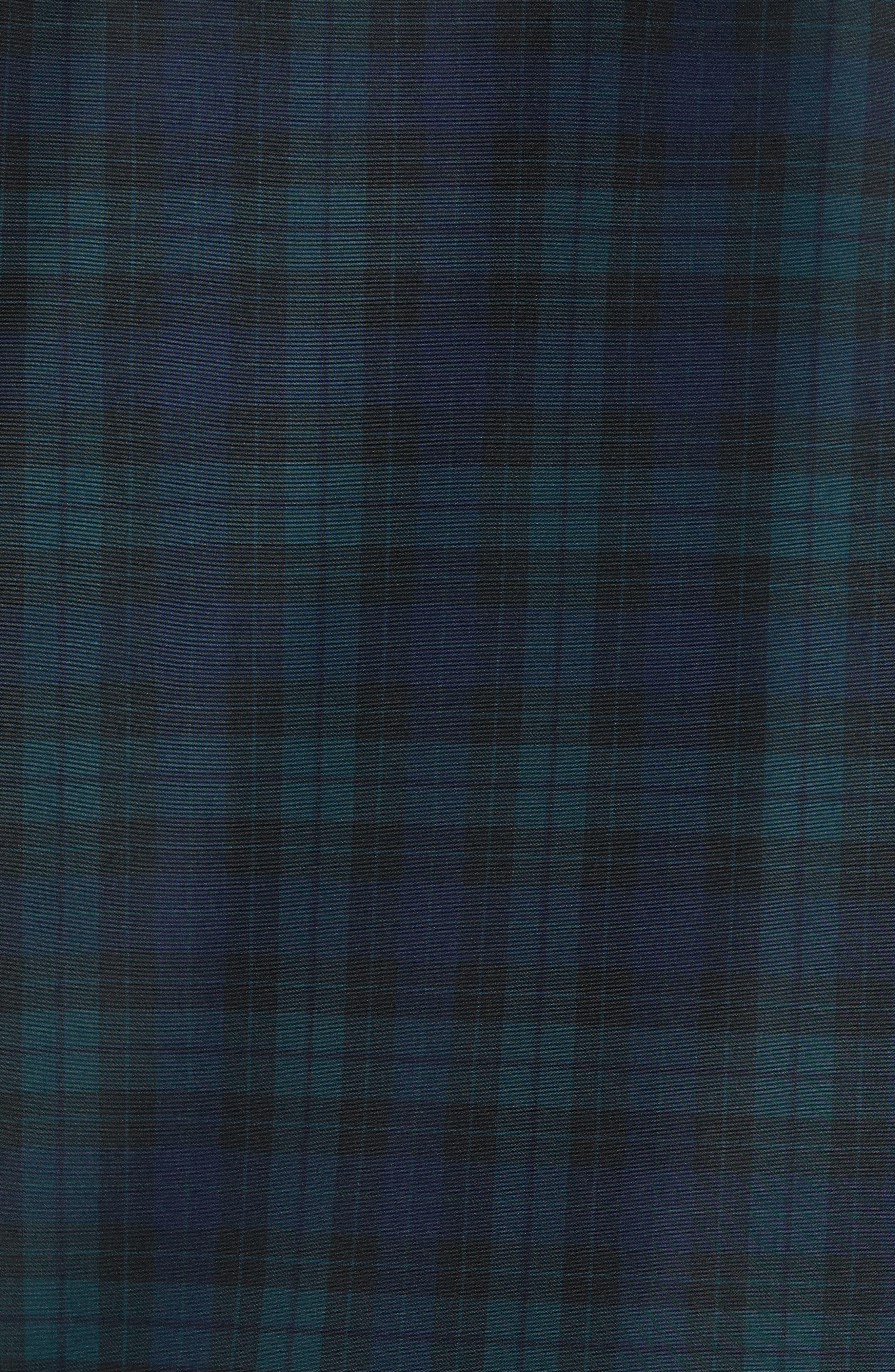 Regular Fit Check Windbreaker Jacket,                             Alternate thumbnail 7, color,                             NAVY BLUE/ SINOPLE BLACK