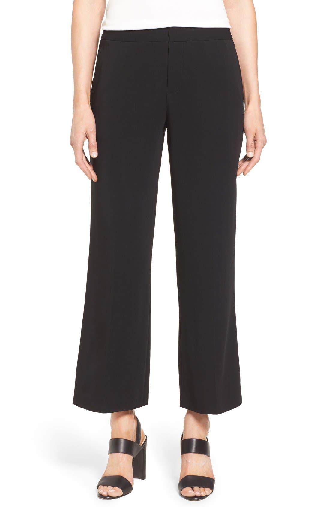 KOBI HALPERIN 'Clara' Crop Pants, Main, color, 001