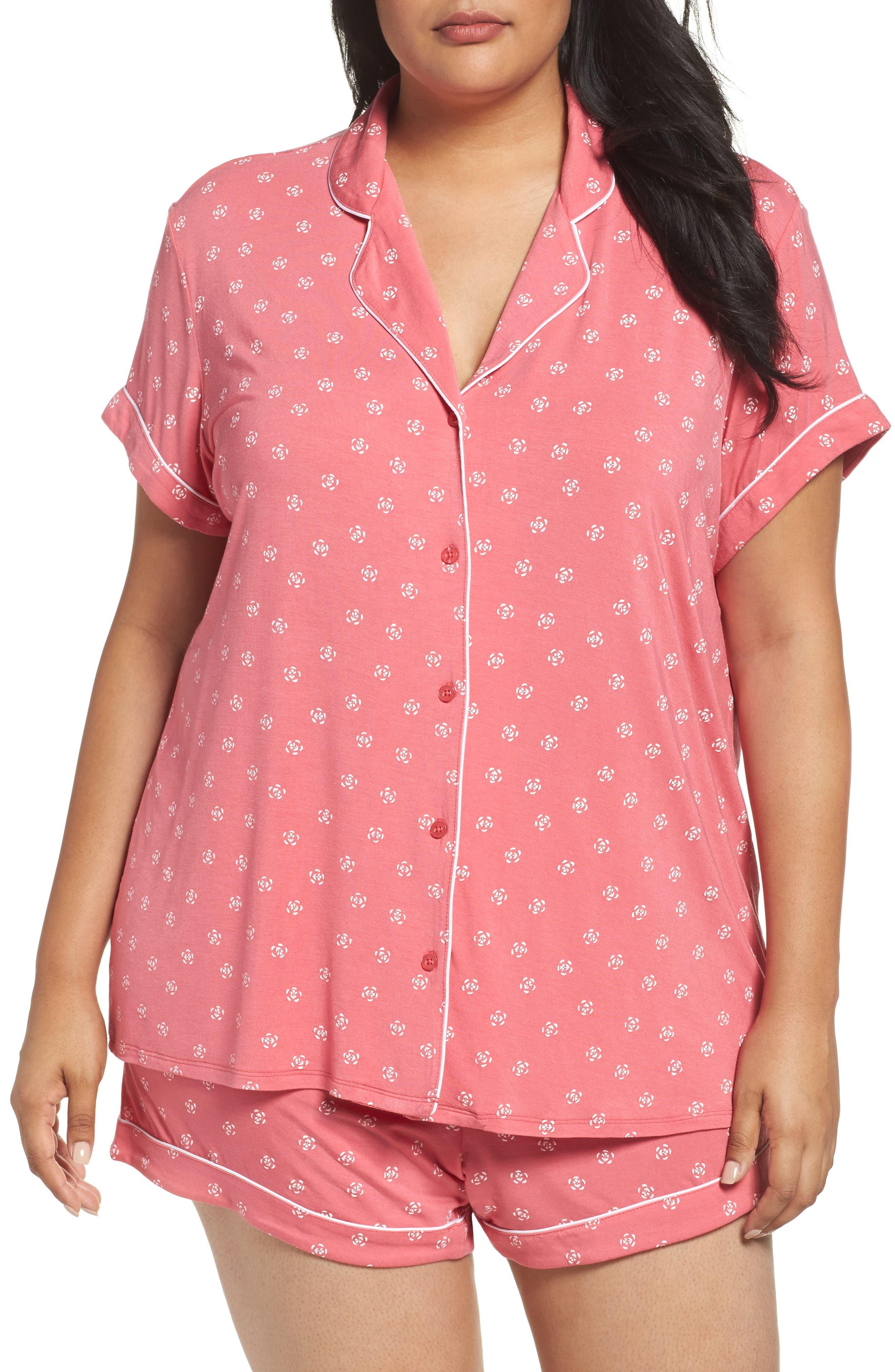 'Moonlight' Short Pajamas,                             Main thumbnail 3, color,