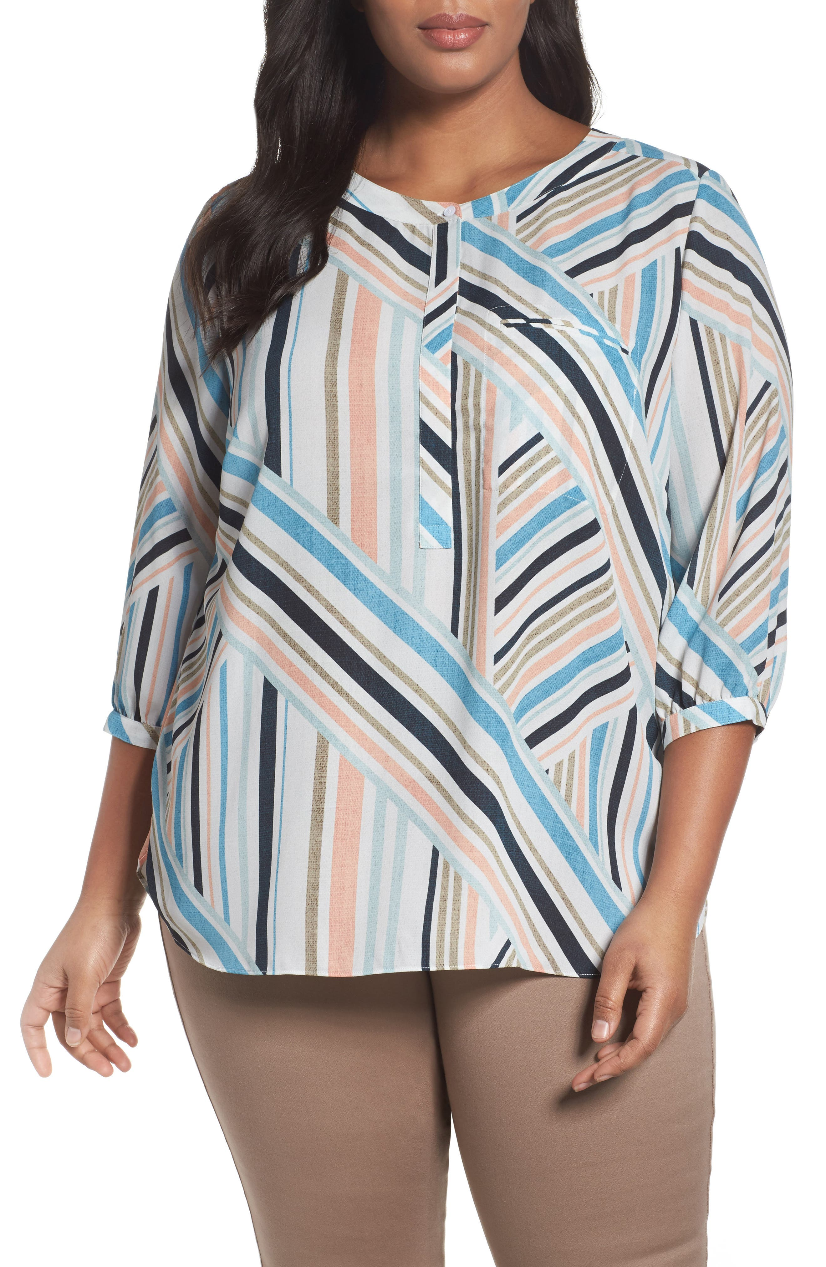 Henley Top,                             Alternate thumbnail 178, color,