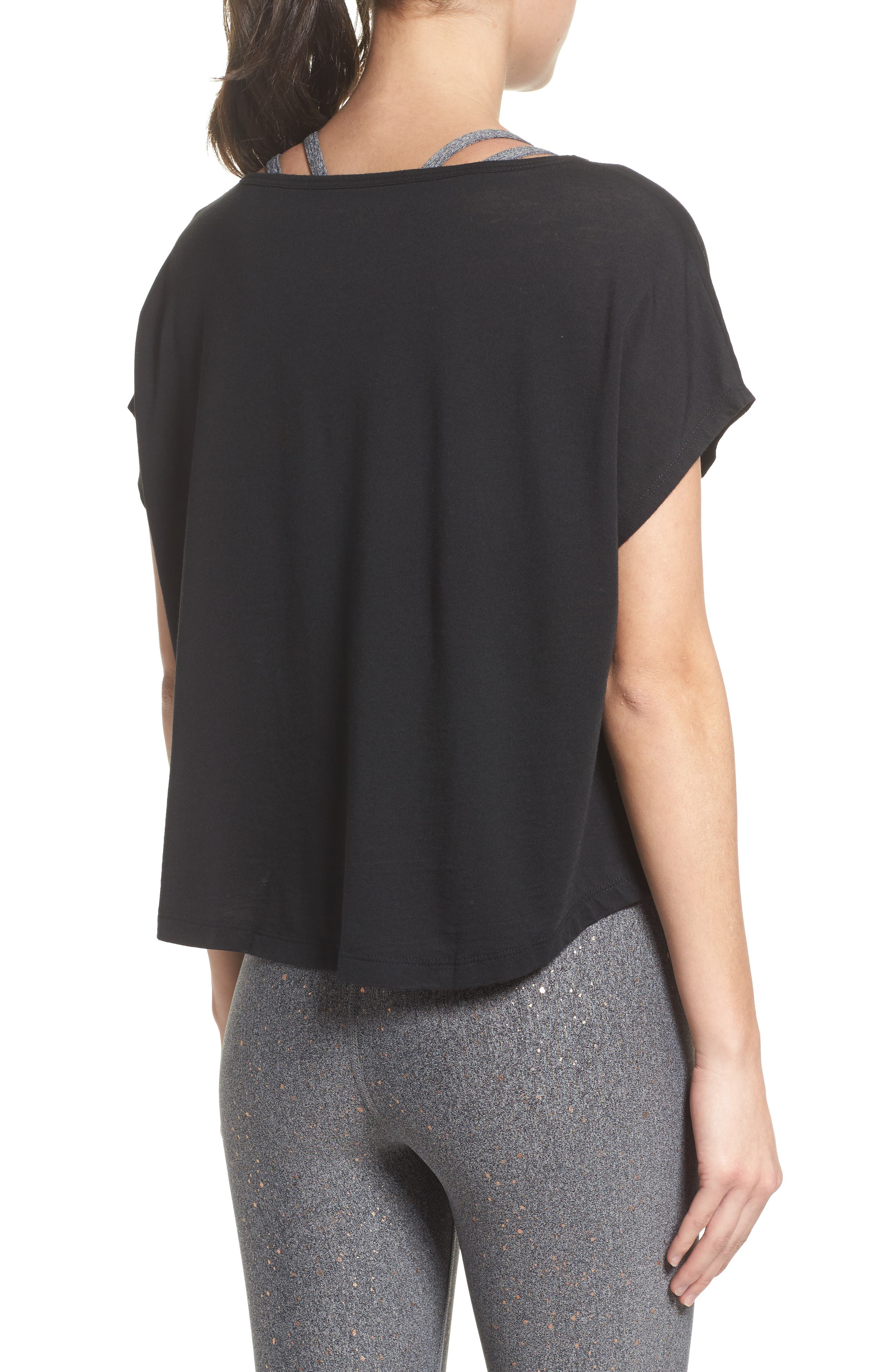 Perfect Layer Tee,                             Alternate thumbnail 4, color,