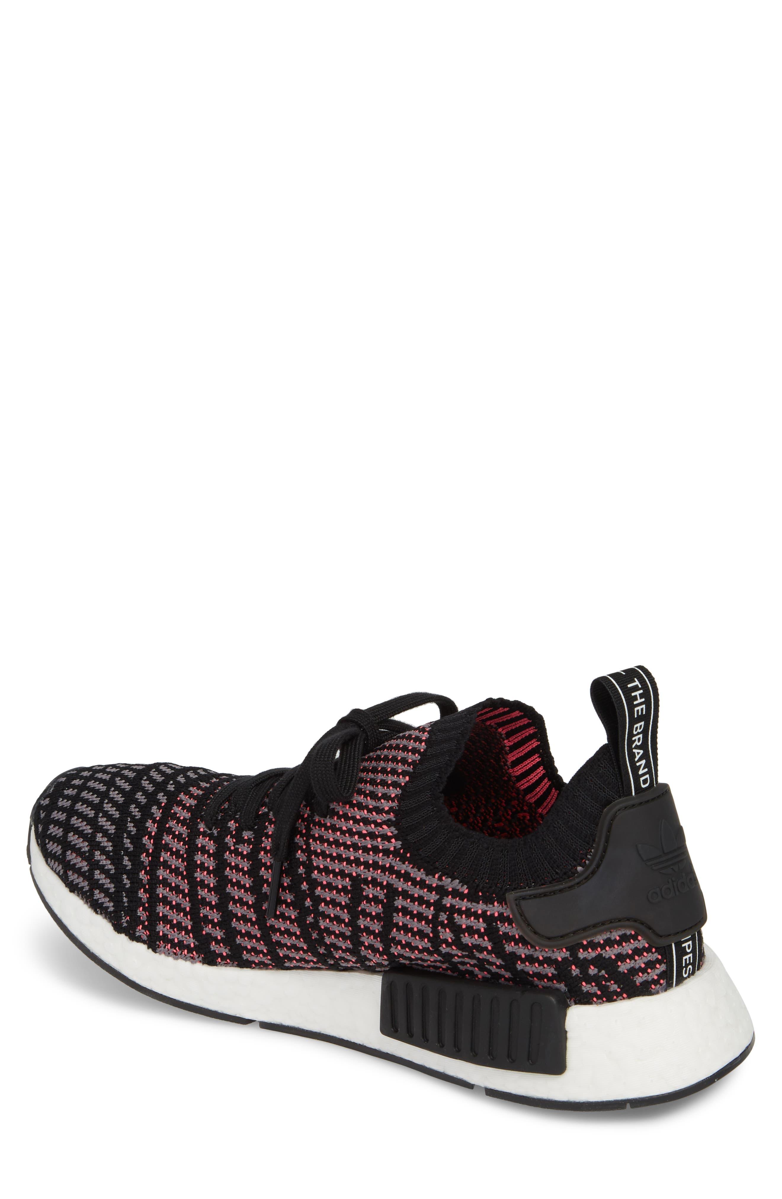NMD R1 STLT Primeknit Sneaker,                             Alternate thumbnail 4, color,