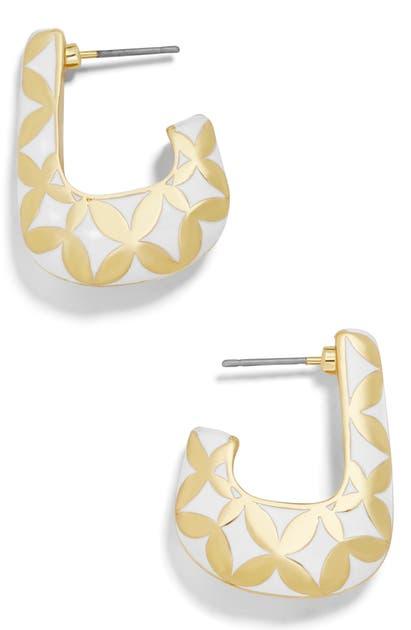 Baublebar Accessories VARINIA BOXY HOOP EARRINGS