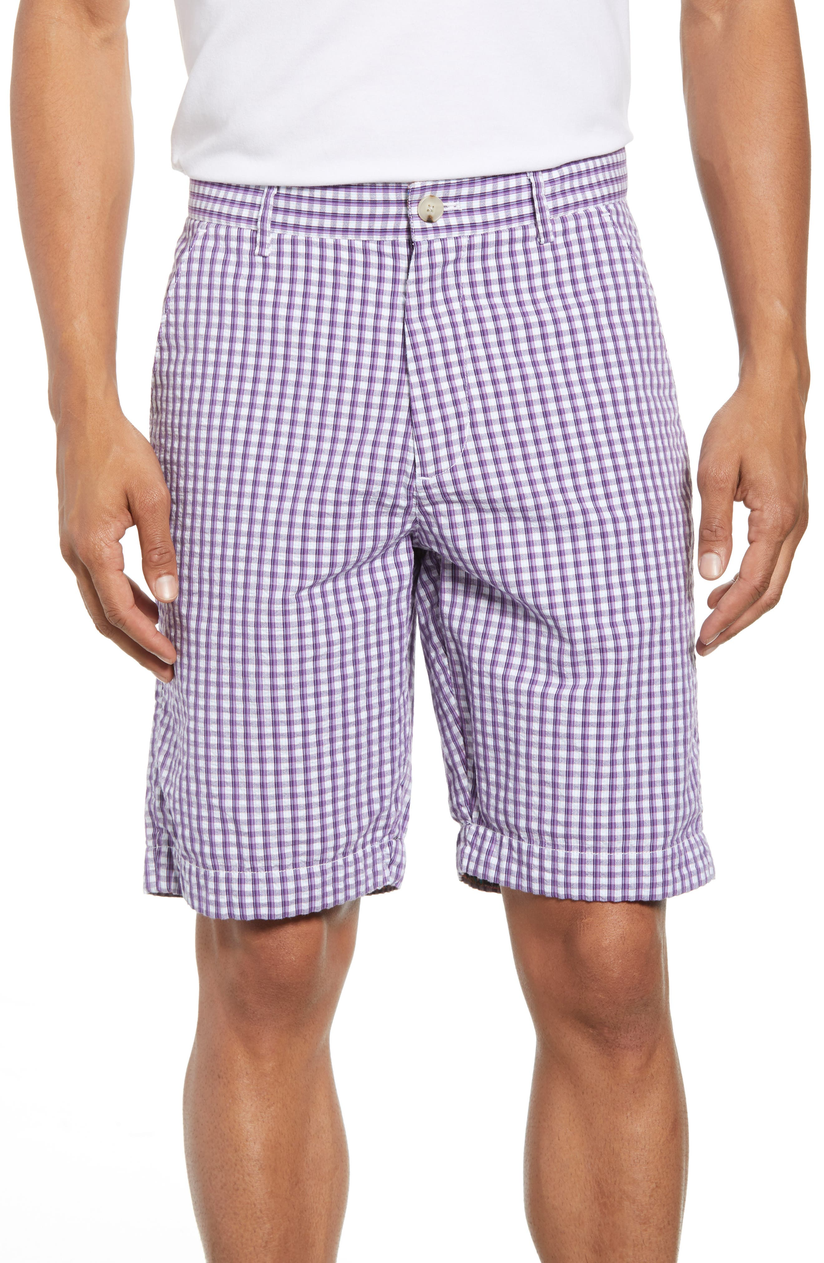 Melendez Classic Fit Shorts,                         Main,                         color, RED