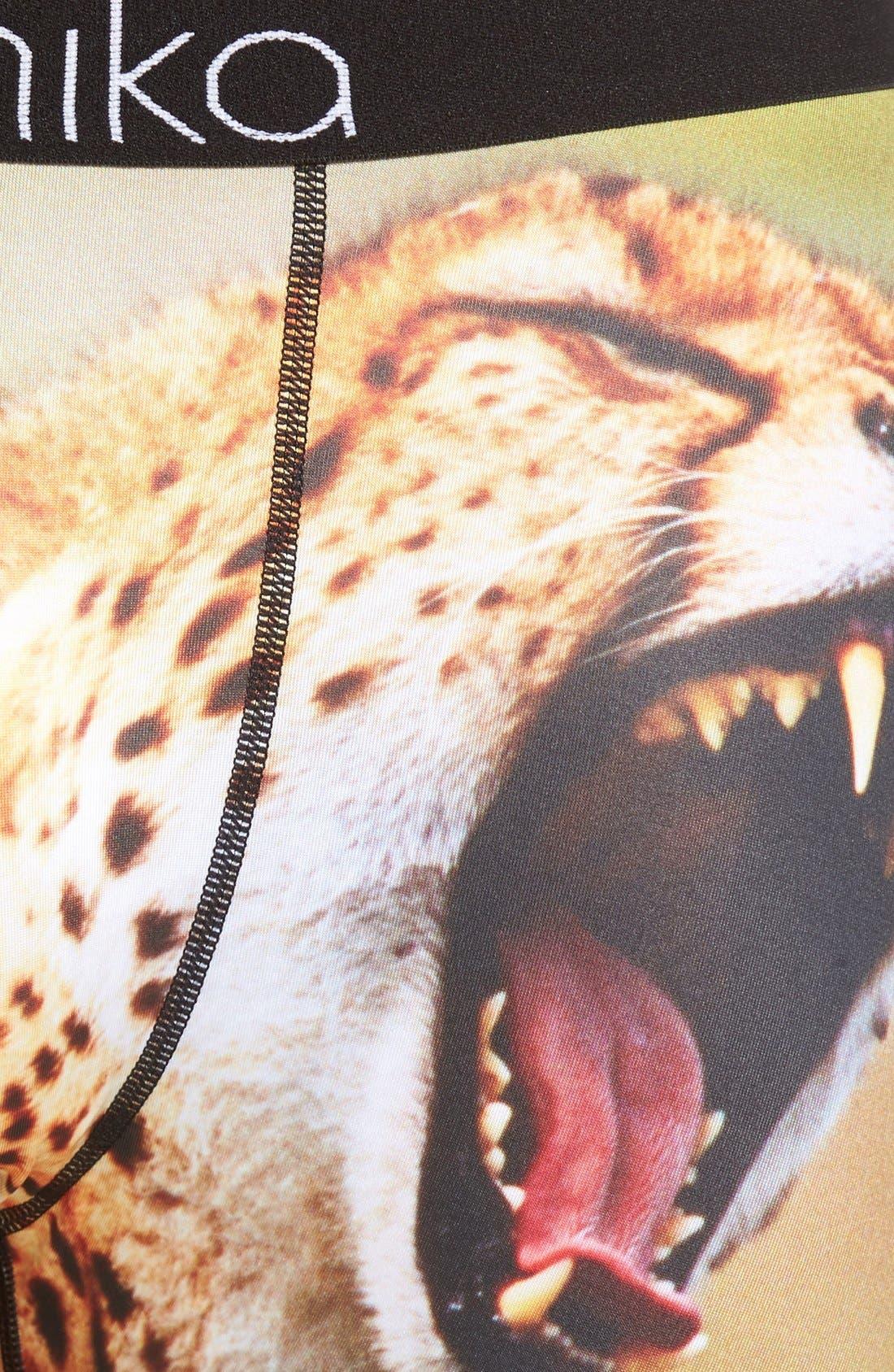 'You a Cheetah' Stretch Boxer Briefs,                             Alternate thumbnail 4, color,