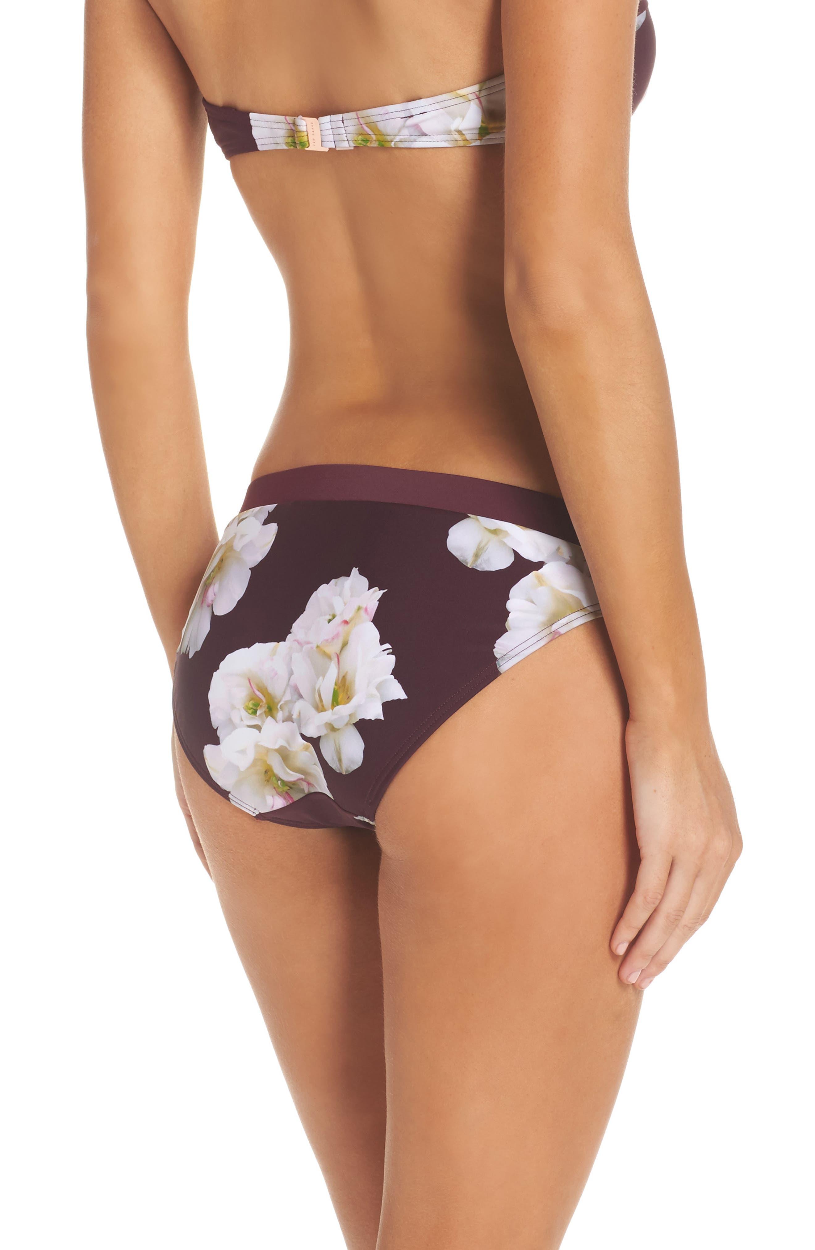 Garcela Gardenia Bikini Bottoms,                             Alternate thumbnail 2, color,                             930