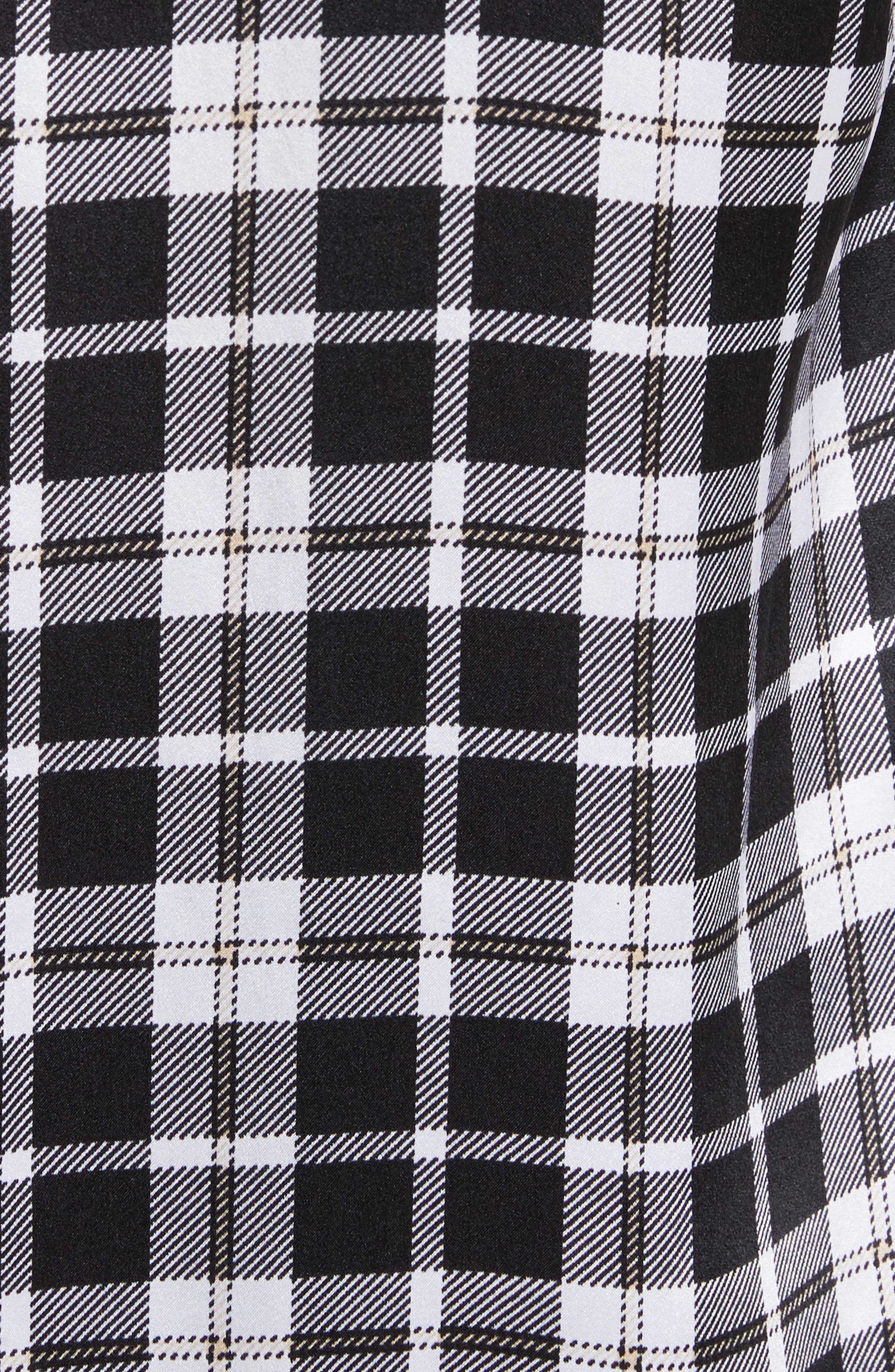 Essential Tie Neck Silk Shirt,                             Alternate thumbnail 5, color,                             129