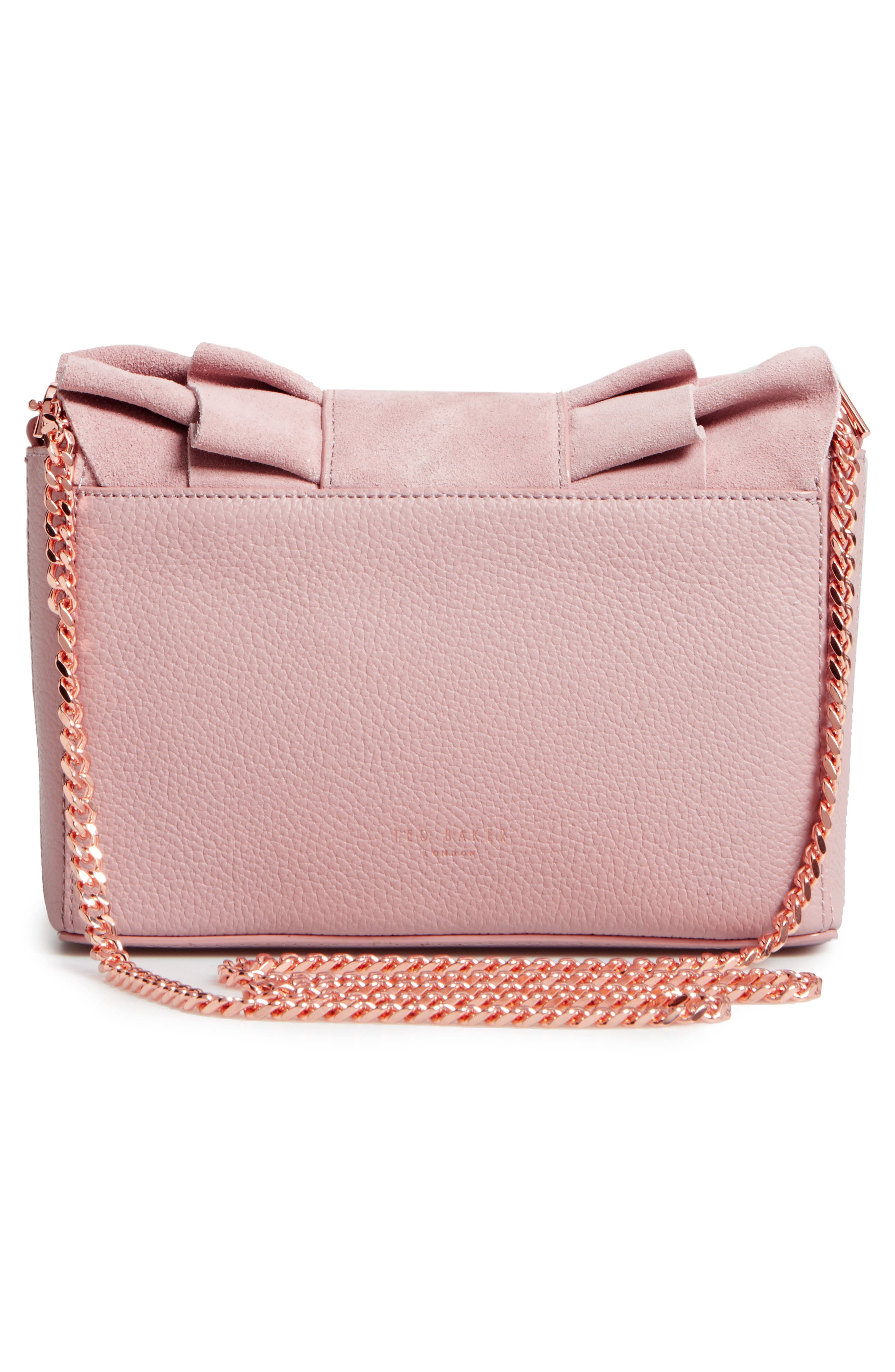 Nerinee Bow Buckle Clutch,                             Alternate thumbnail 9, color,