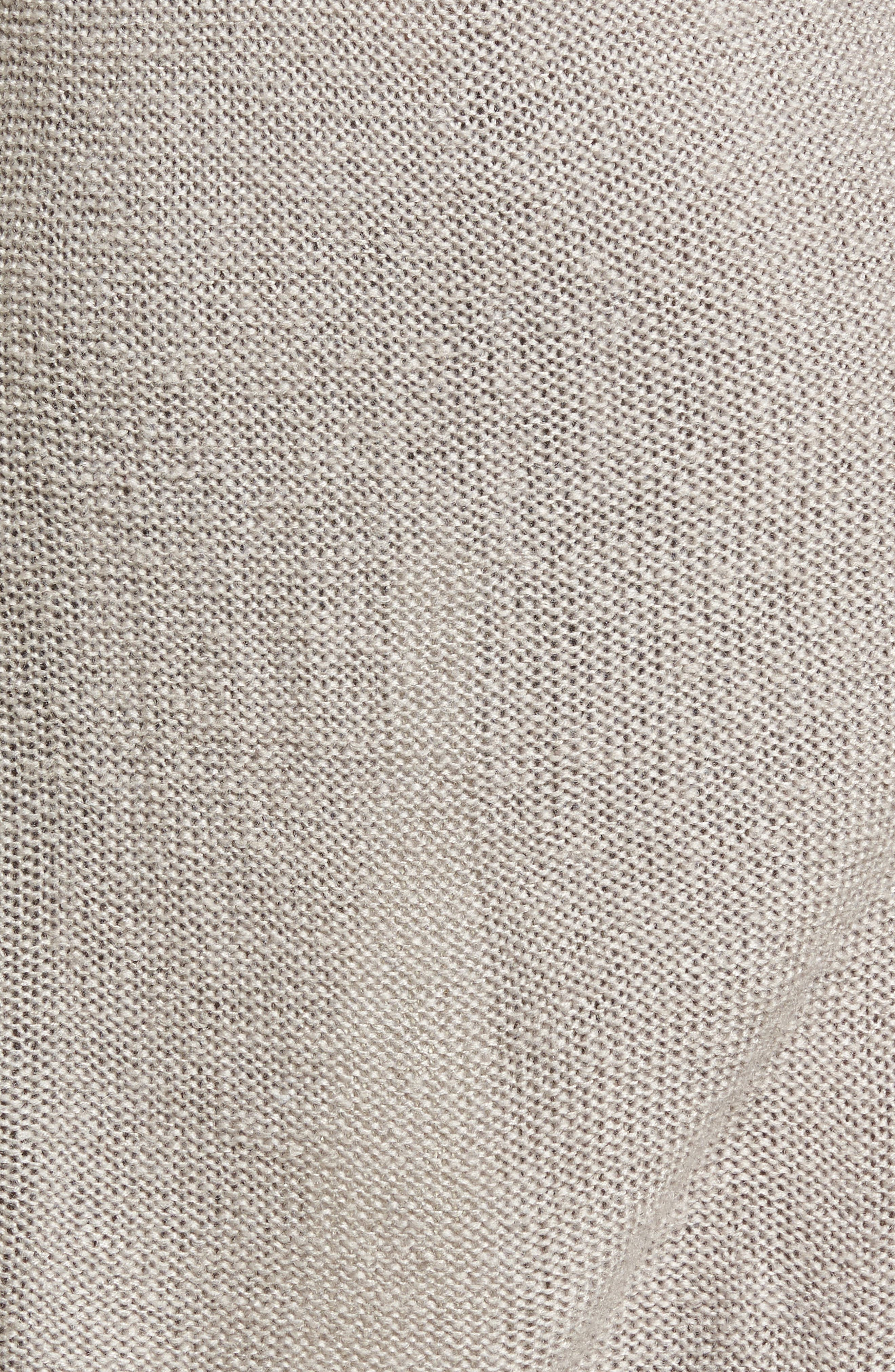 Bell Sleeve Sweater Dress,                             Alternate thumbnail 9, color,