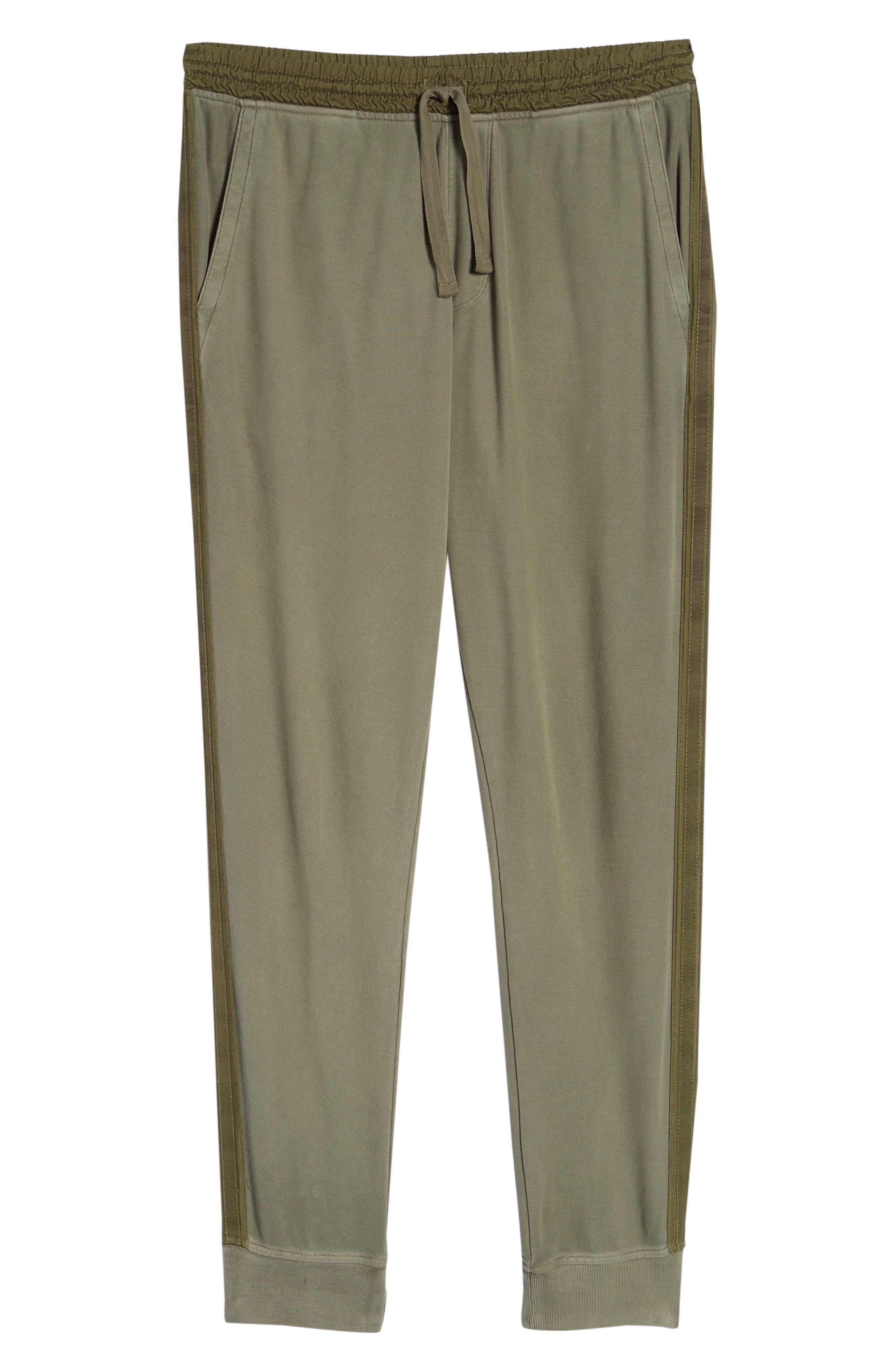 Chroma Wash Regular Fit Piqué Pants,                             Alternate thumbnail 6, color,                             331