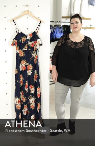 Floral Maxi Dress, sales video thumbnail