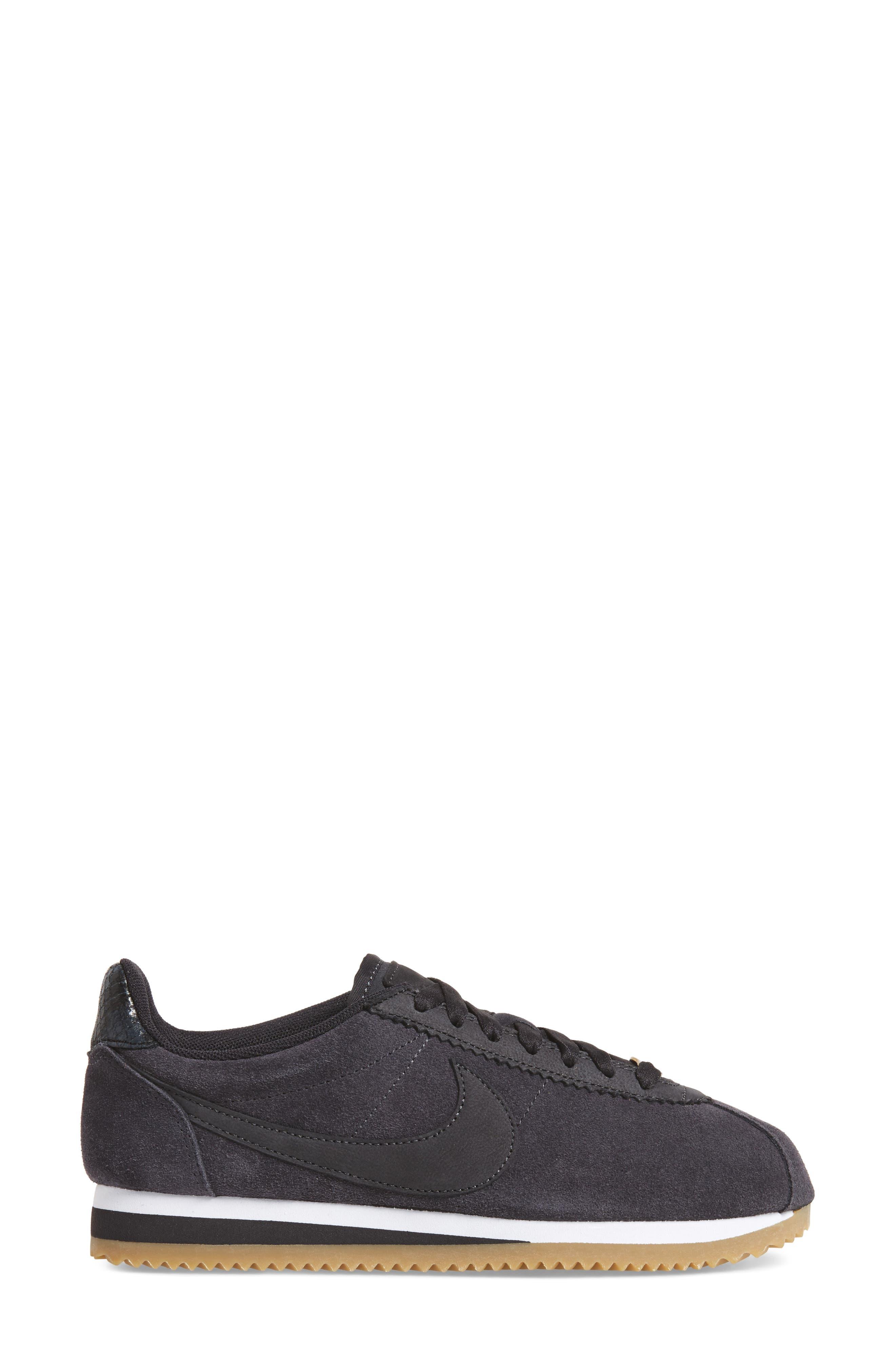 x A.L.C. Classic Cortez Sneaker,                             Alternate thumbnail 3, color,                             001