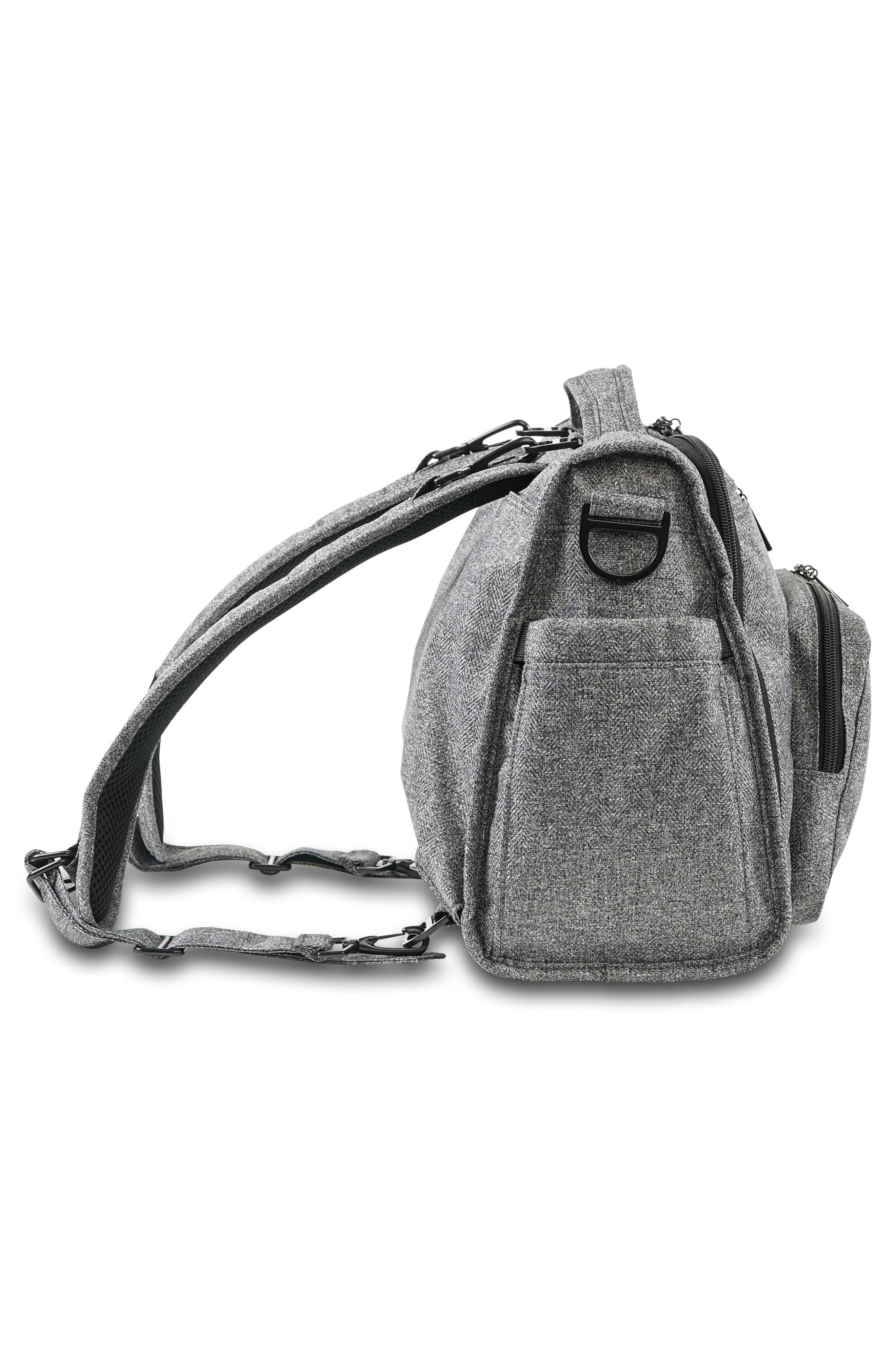 'BFF - Onyx Collection' Diaper Bag,                             Alternate thumbnail 5, color,                             GRAY MATTER