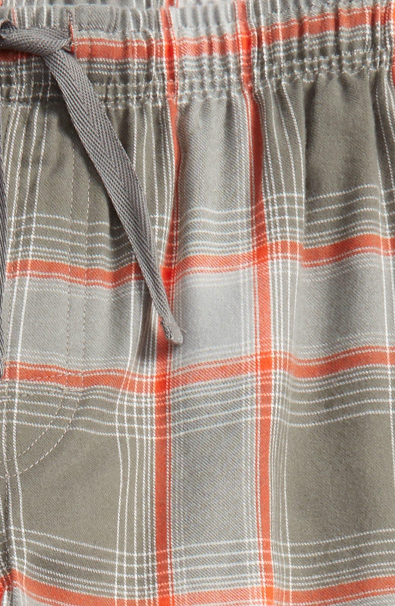 Plaid Flannel Pants,                             Alternate thumbnail 15, color,