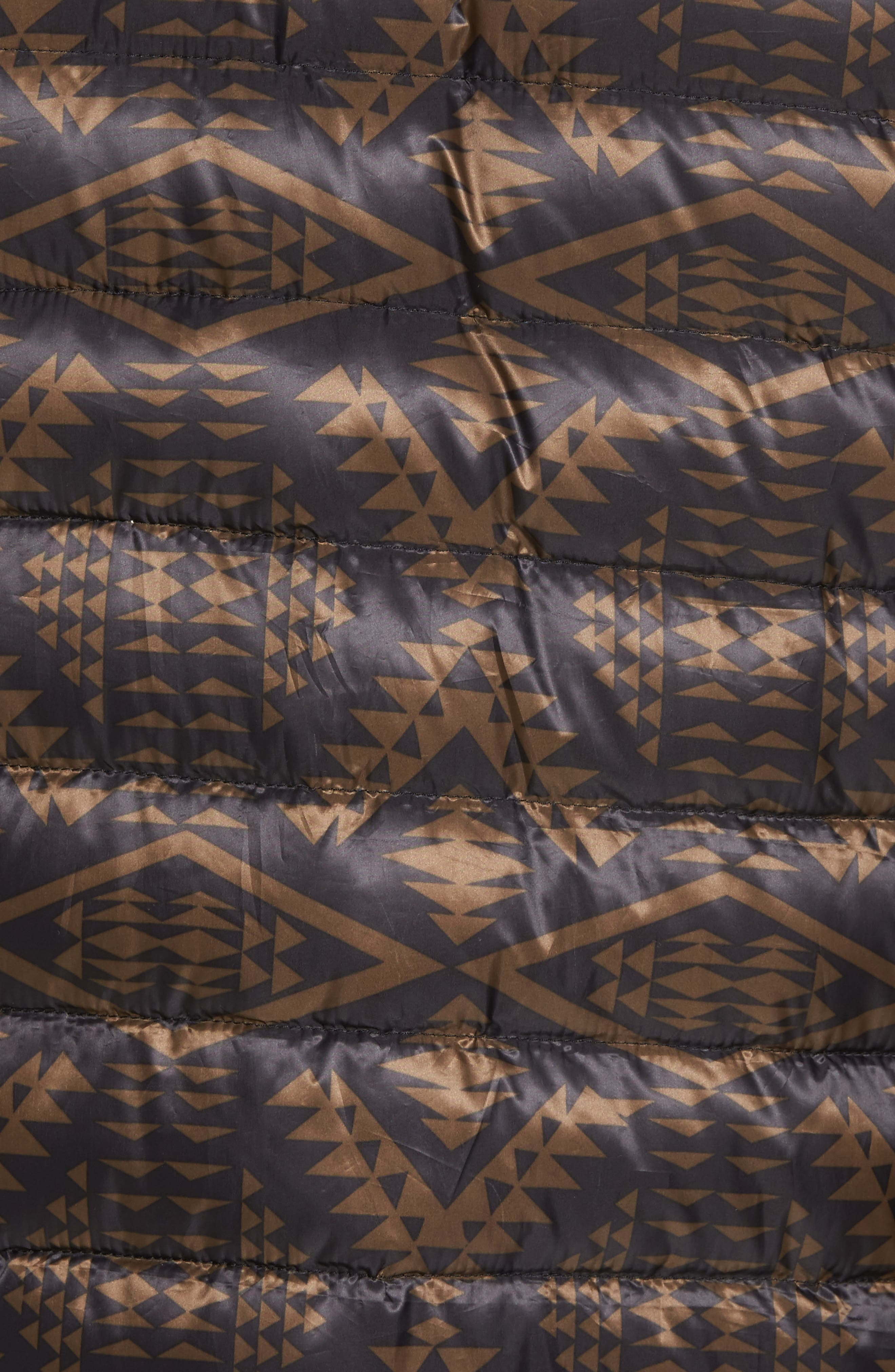 Eugene Down Baseball Jacket,                             Alternate thumbnail 6, color,                             002