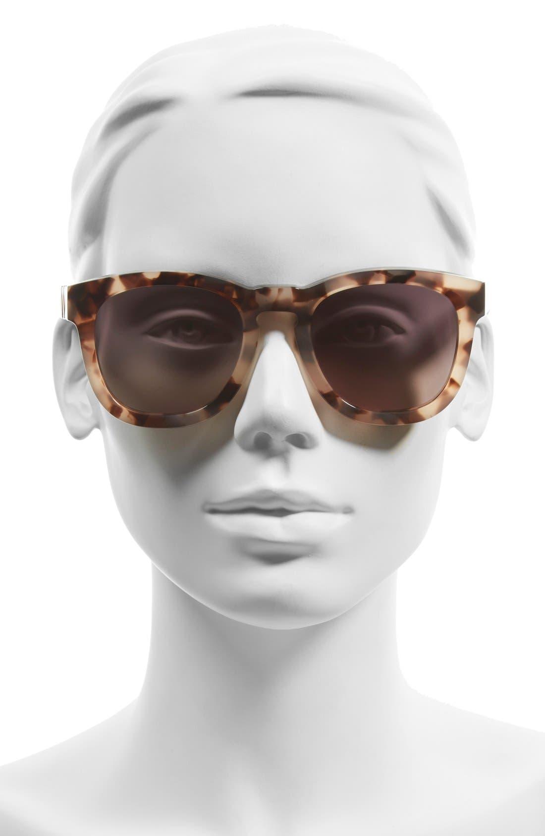 'Classic Fox' 50mm Retro Sunglasses,                             Alternate thumbnail 23, color,
