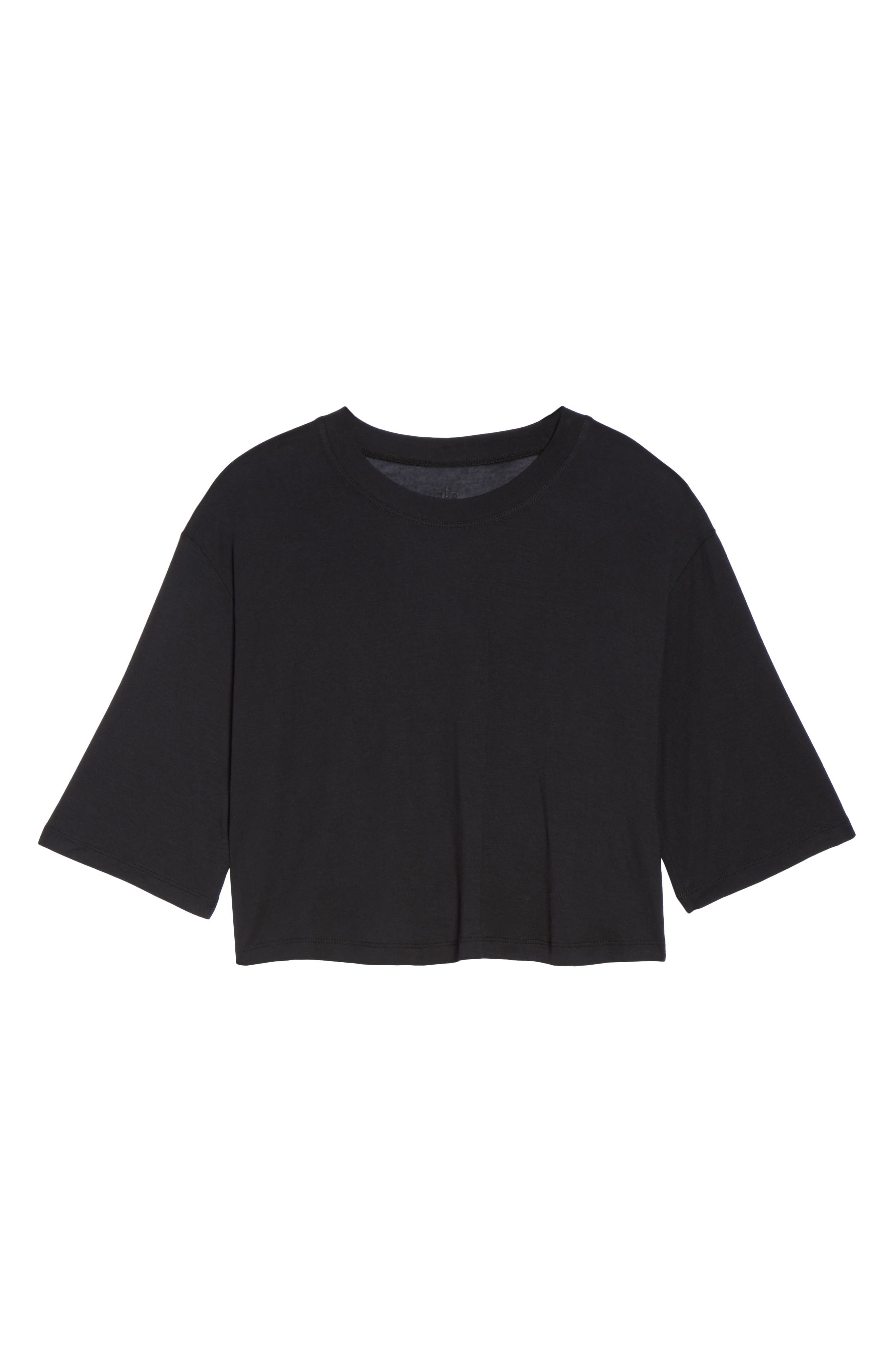 Verve Crop Top,                             Alternate thumbnail 6, color,                             001