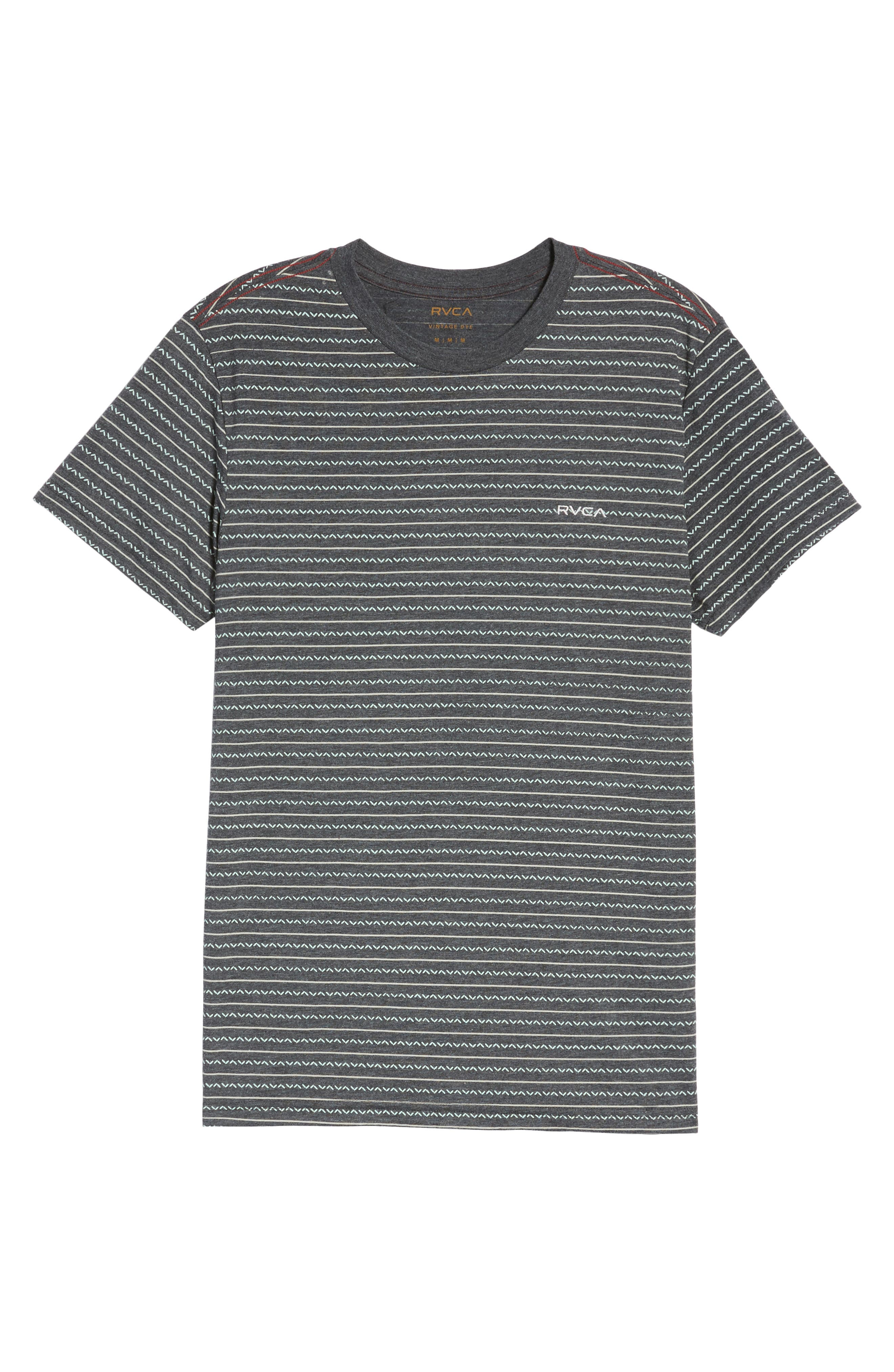 Chevron Stripe T-Shirt,                             Alternate thumbnail 11, color,