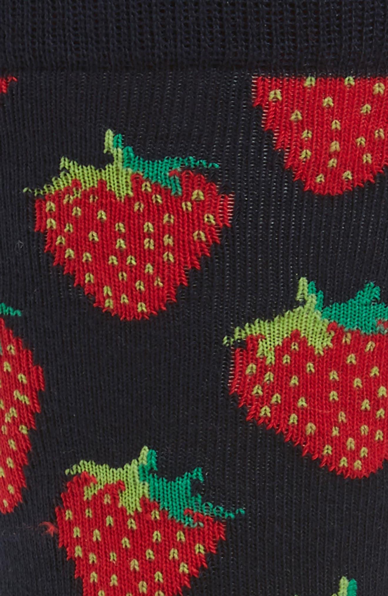 Strawberry Socks,                             Alternate thumbnail 2, color,                             484