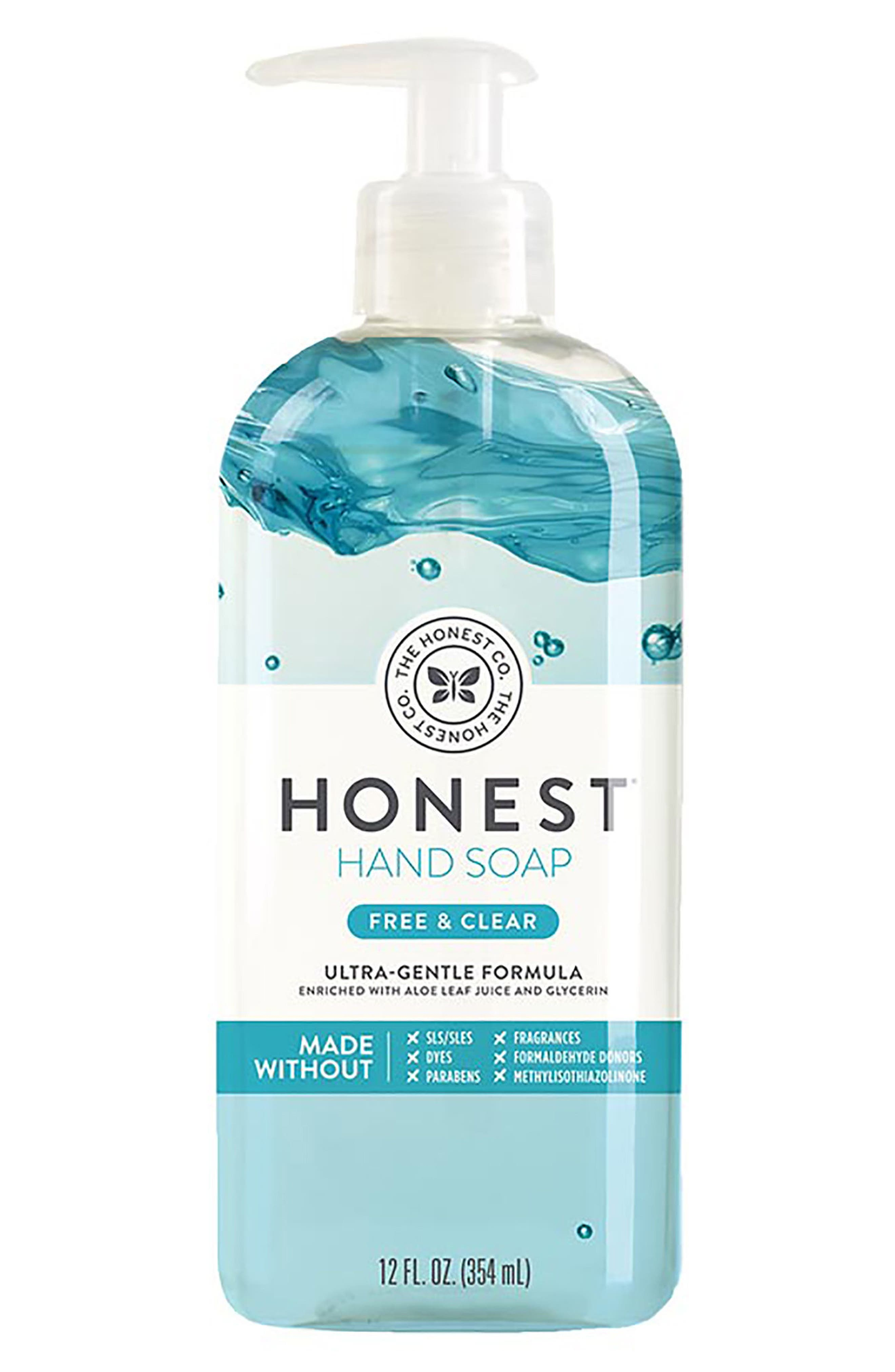 Free & Clear Hand Soap,                             Main thumbnail 1, color,                             FREE/ CLEAR