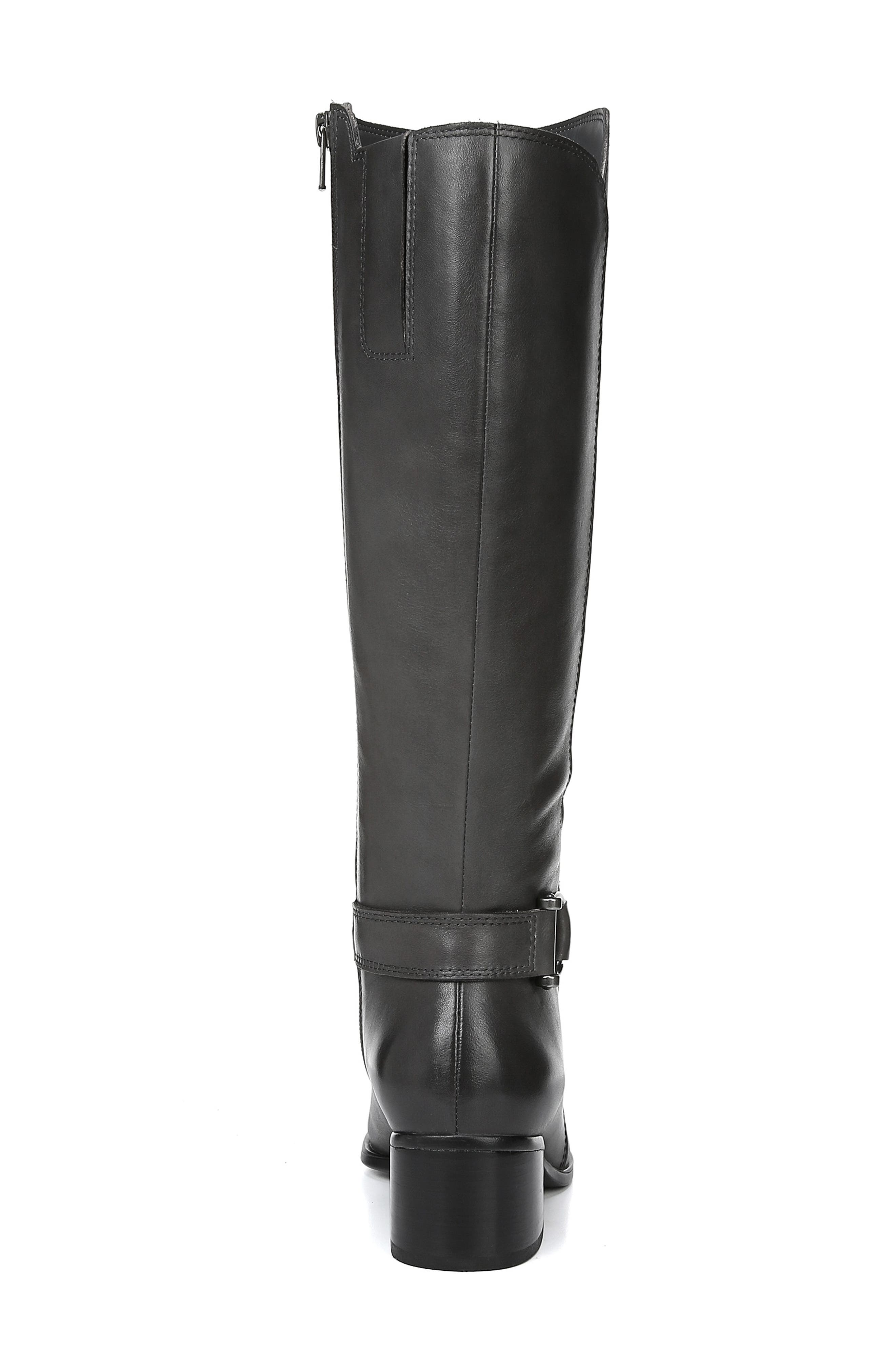 Dane Knee High Riding Boot,                             Alternate thumbnail 7, color,                             GREY LEATHER