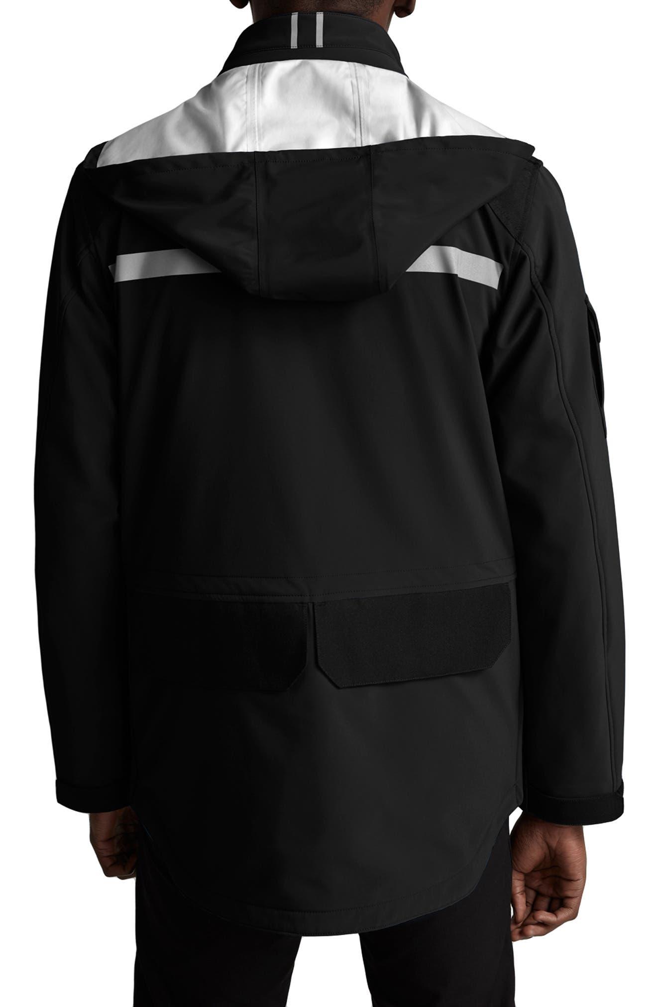 Canada Goose Photojournalist Regular Fit Jacket, Black