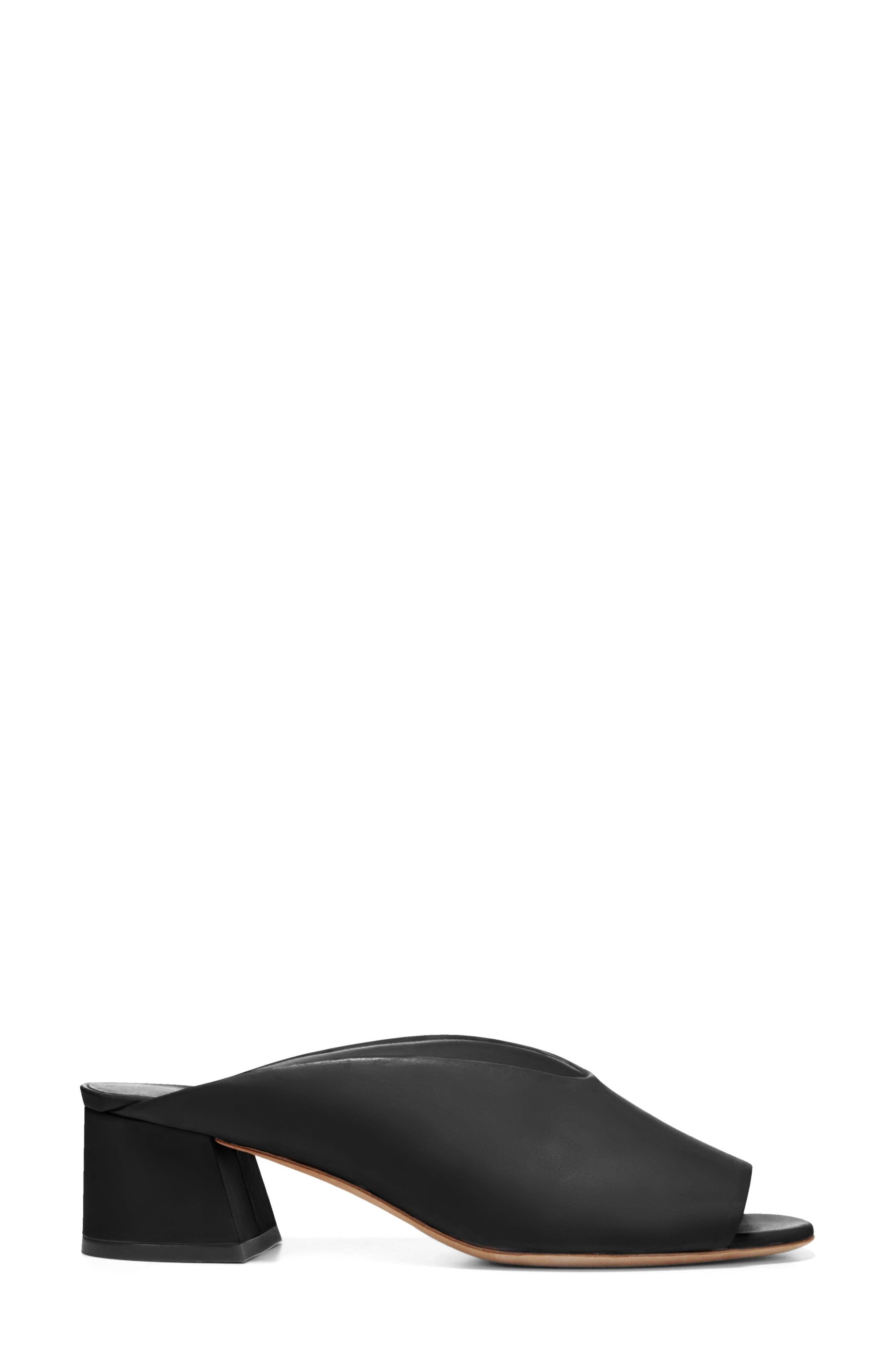Cachet Sandal,                             Alternate thumbnail 3, color,                             BLACK SIVIGLIA CALF