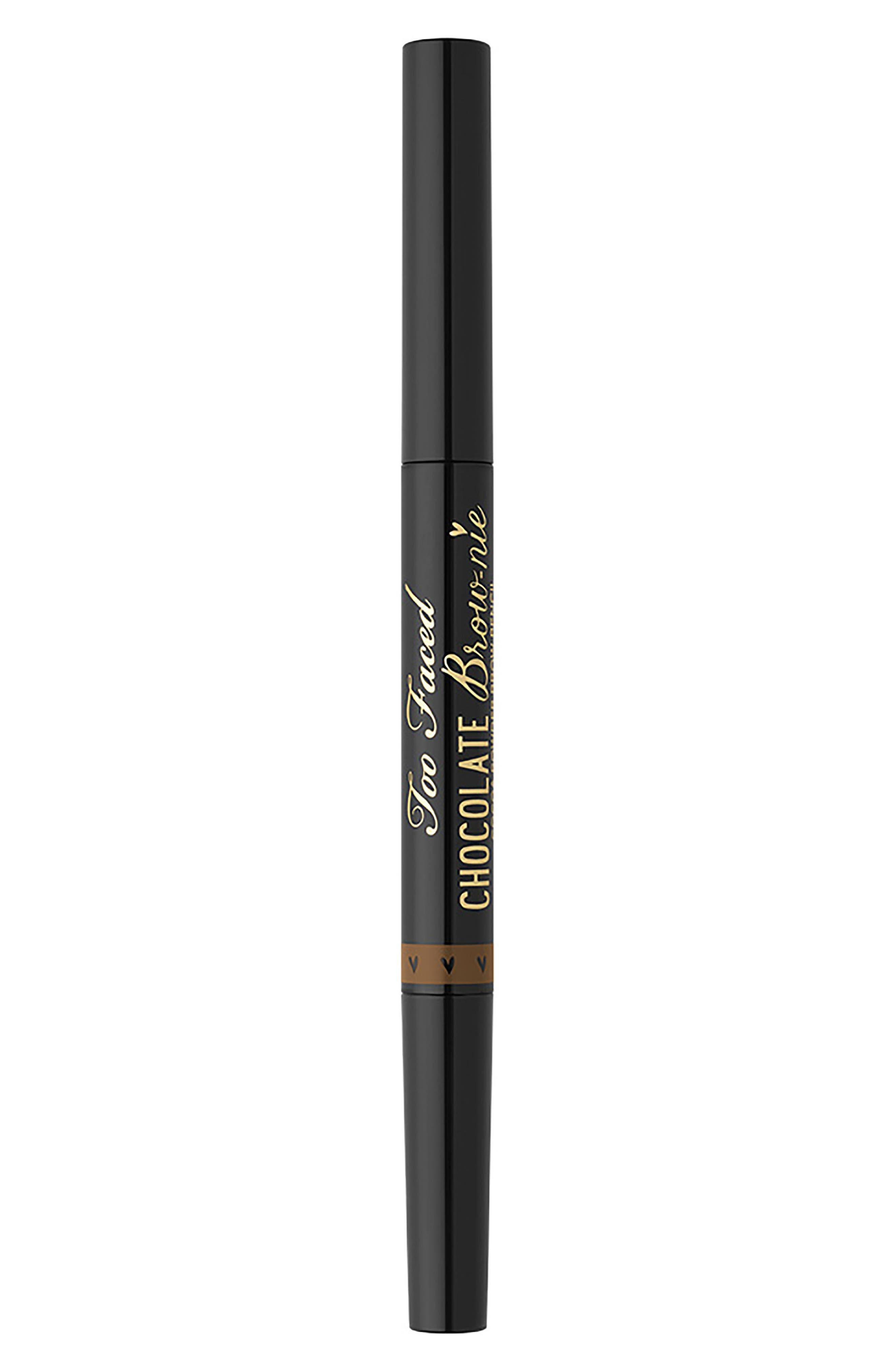 Chocolate Brow-nie Cocoa Powder Brow Pencil,                             Main thumbnail 1, color,                             SOFT BROWN
