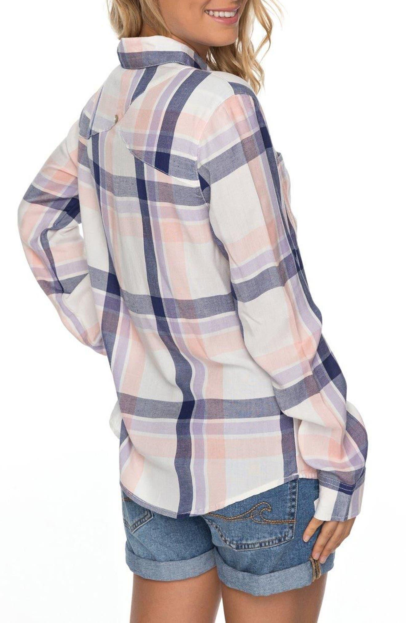 Setai Miami Plaid Shirt,                             Alternate thumbnail 2, color,                             101