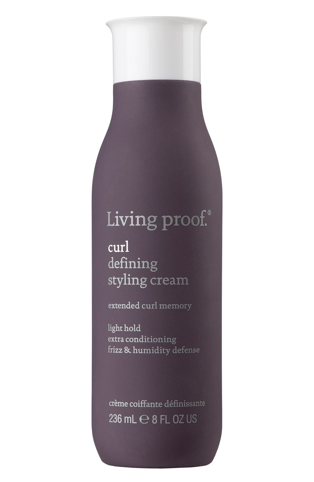 Curl Defining Styling Cream,                             Main thumbnail 1, color,                             000