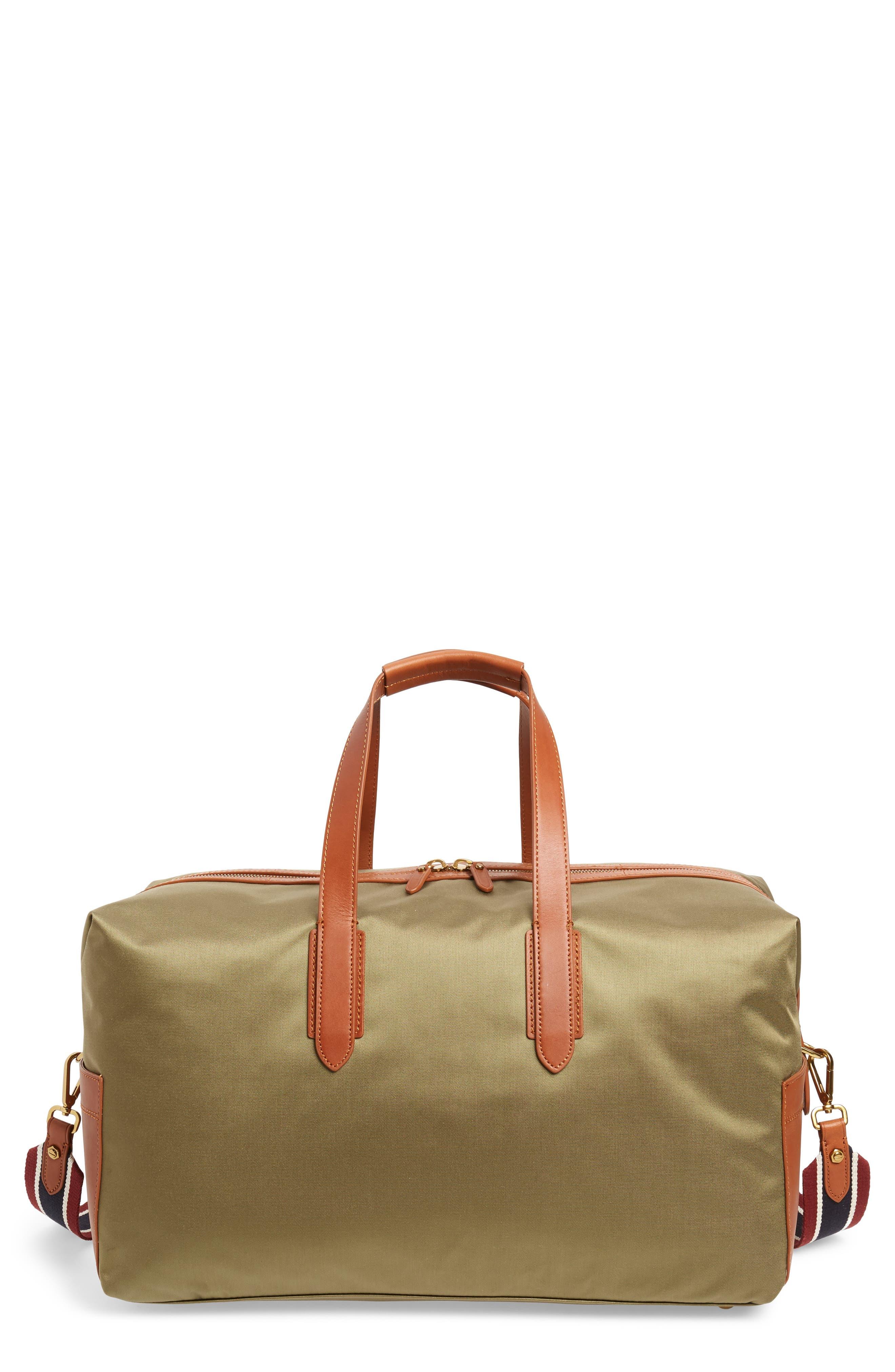 J.CREW Oar Stripe Weekend Bag, Main, color, 300
