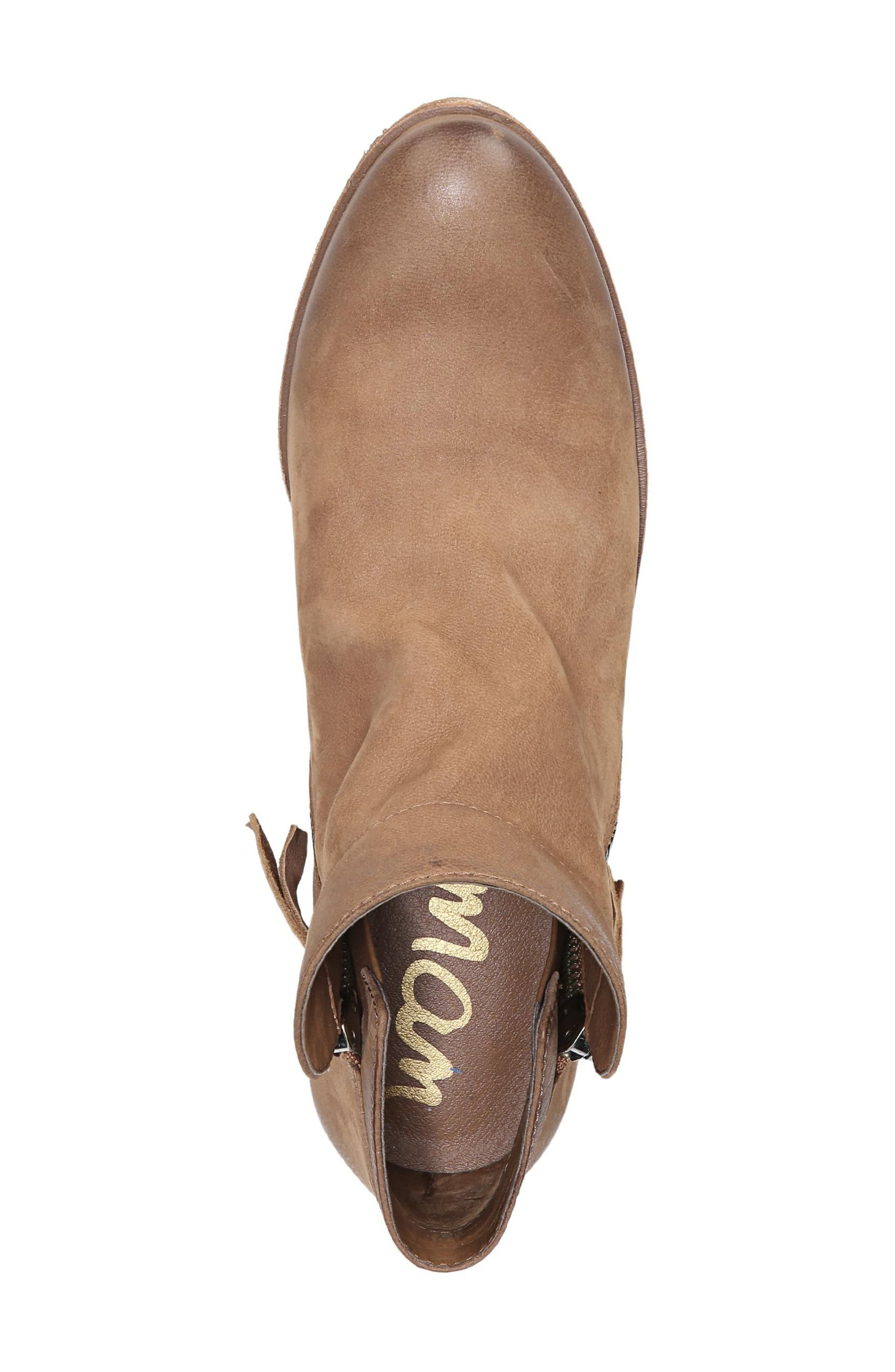 Packer Bootie,                             Alternate thumbnail 5, color,                             DEEP SADDLE LEATHER