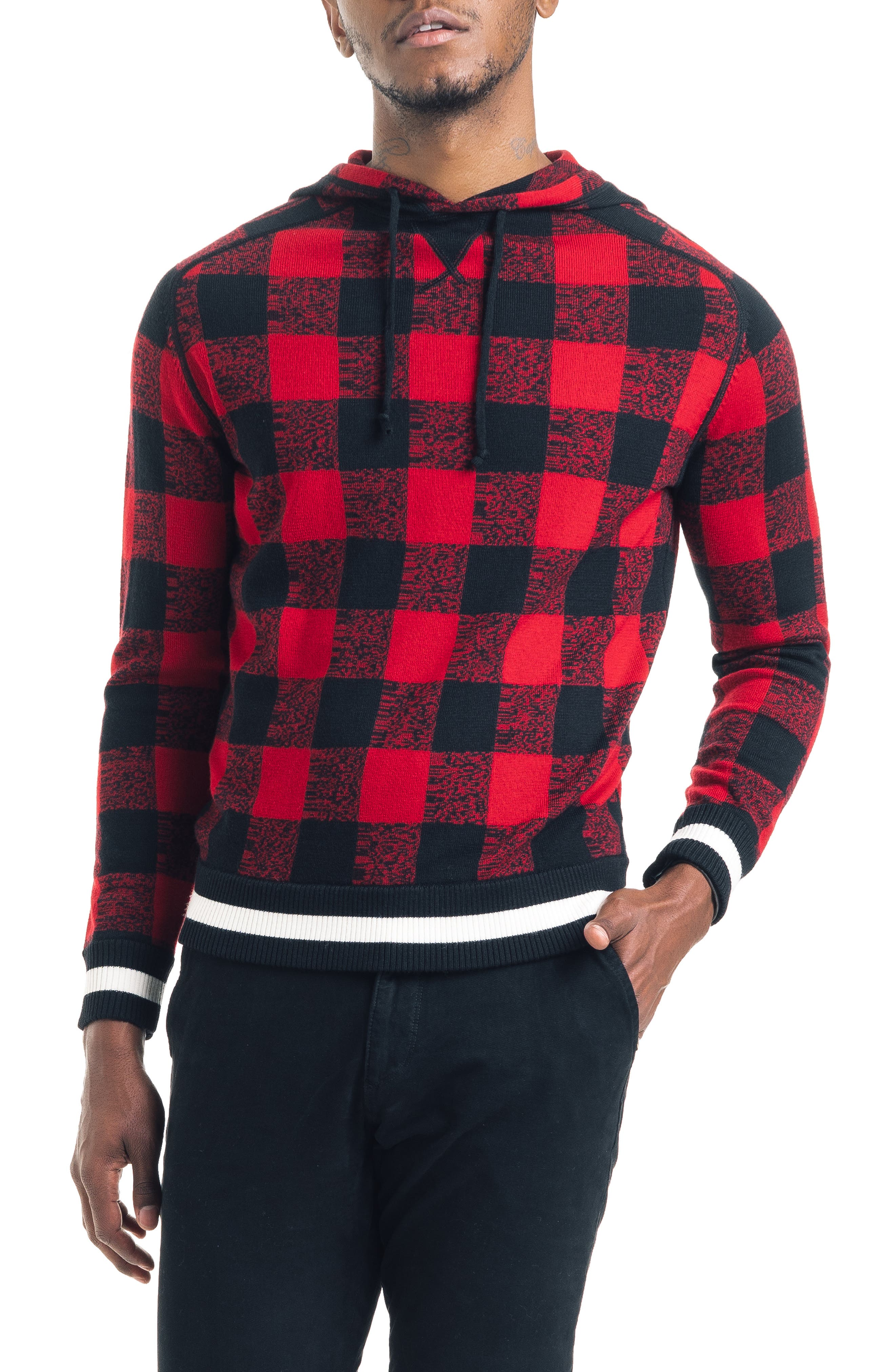GOOD MAN BRAND Athletic Slim Fit Hoodie, Main, color, 600