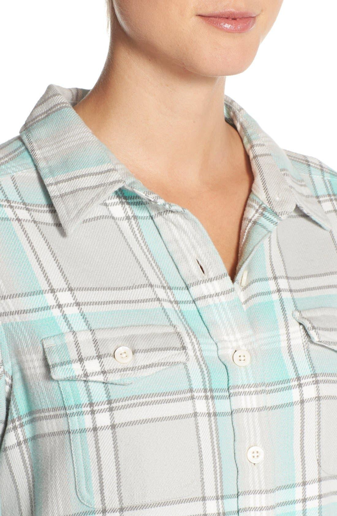 'Fjord' Flannel Shirt,                             Alternate thumbnail 39, color,