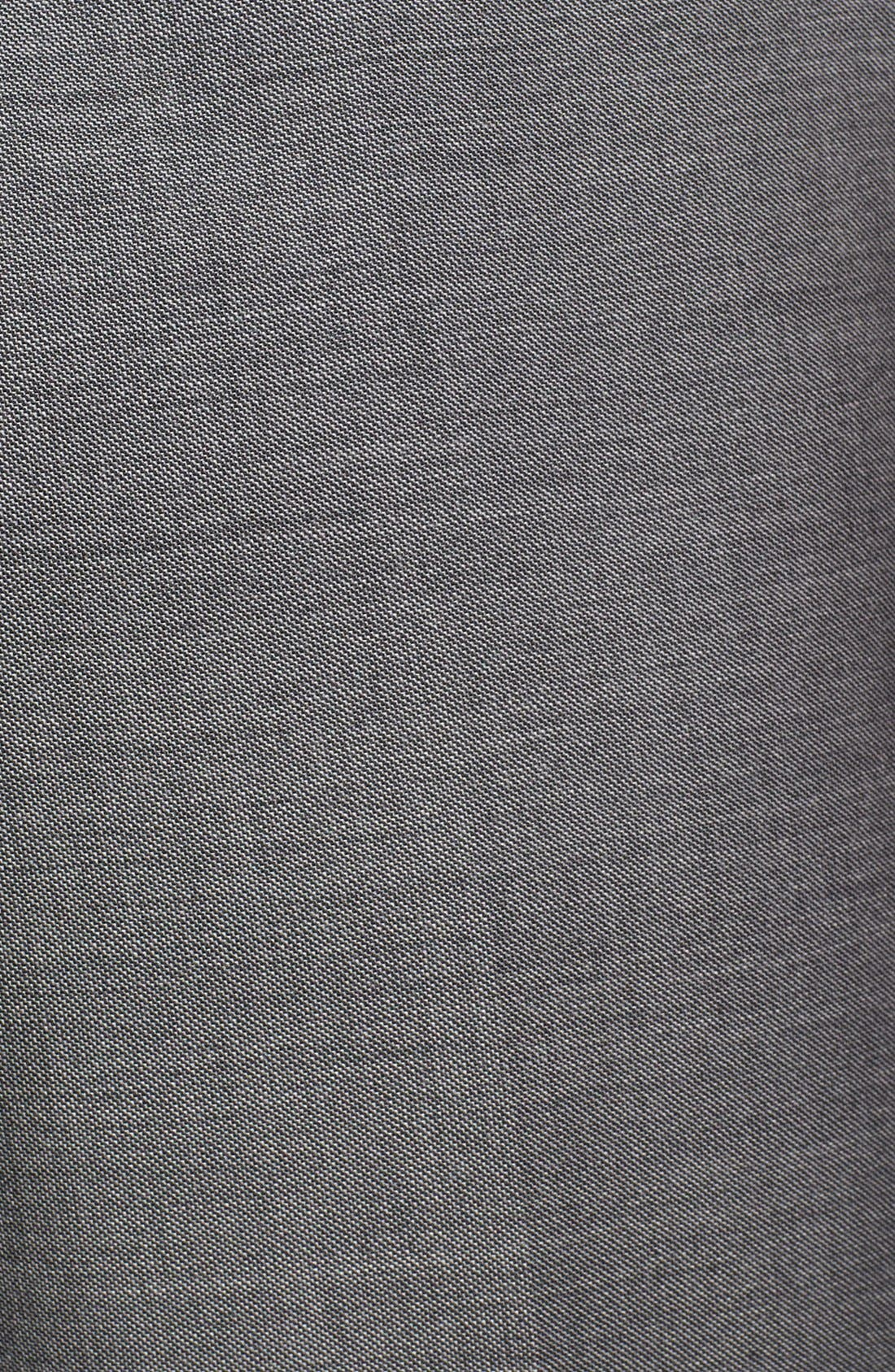 ZZDNUHUGO BOSS,                             BOSS HUGO BOSS 'Sharp' Flat Front Wool Trousers,                             Alternate thumbnail 5, color,                             001