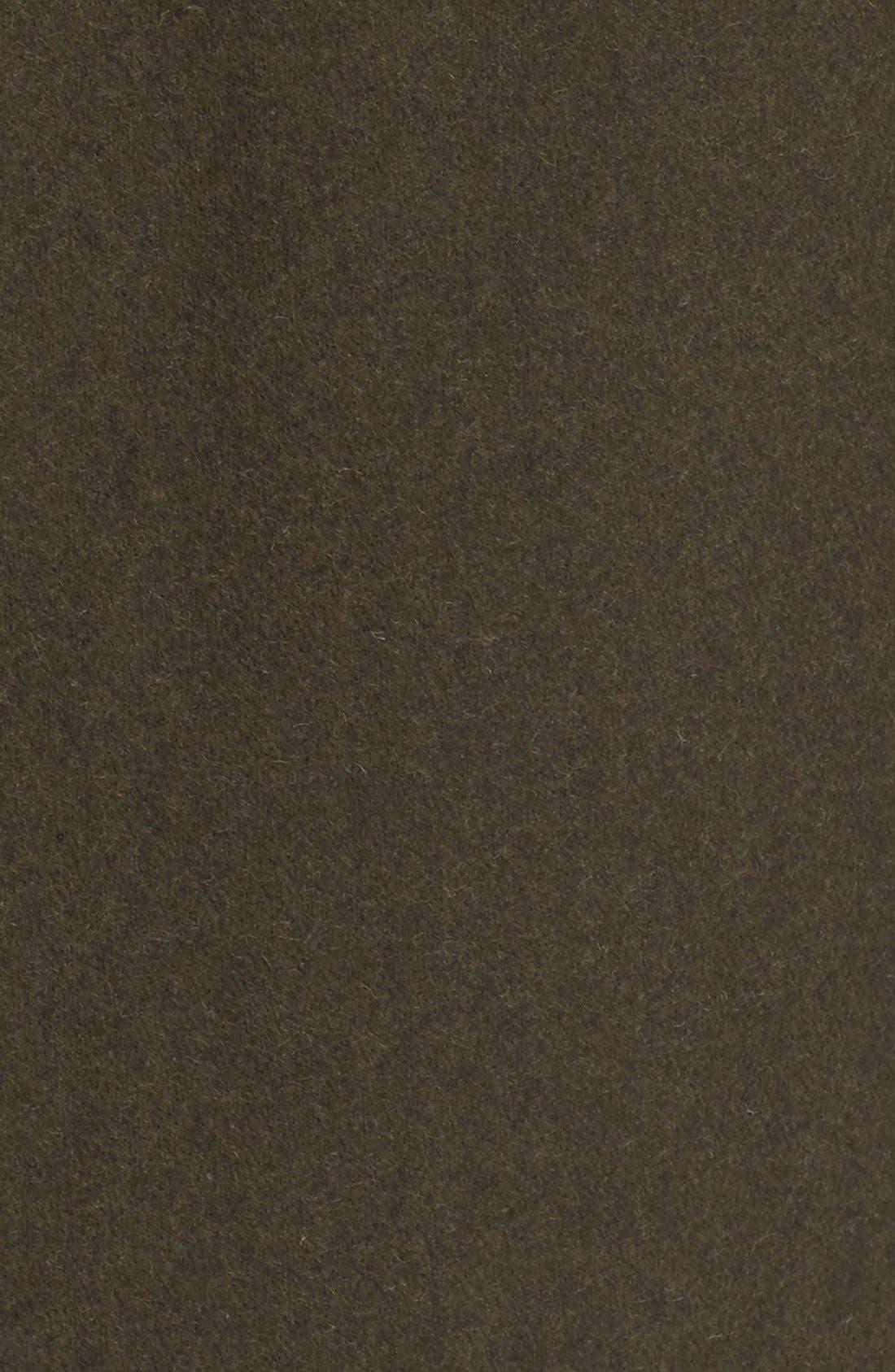 'Dinard' Wool Blend Mac Coat,                             Alternate thumbnail 4, color,                             300