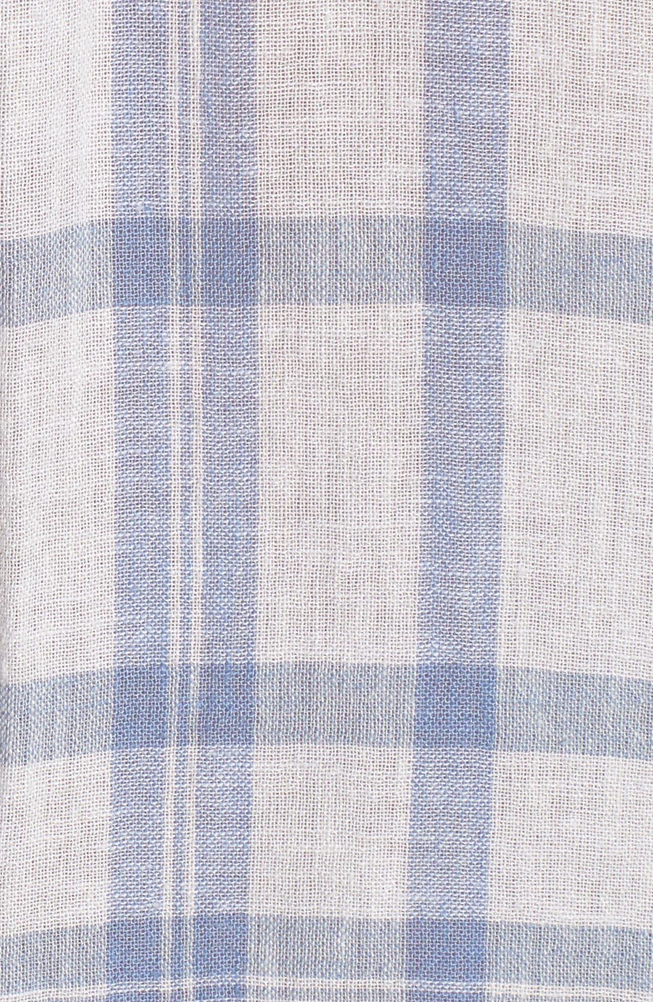 Charli Shirt,                             Alternate thumbnail 6, color,                             TRUE BLUE WHITE