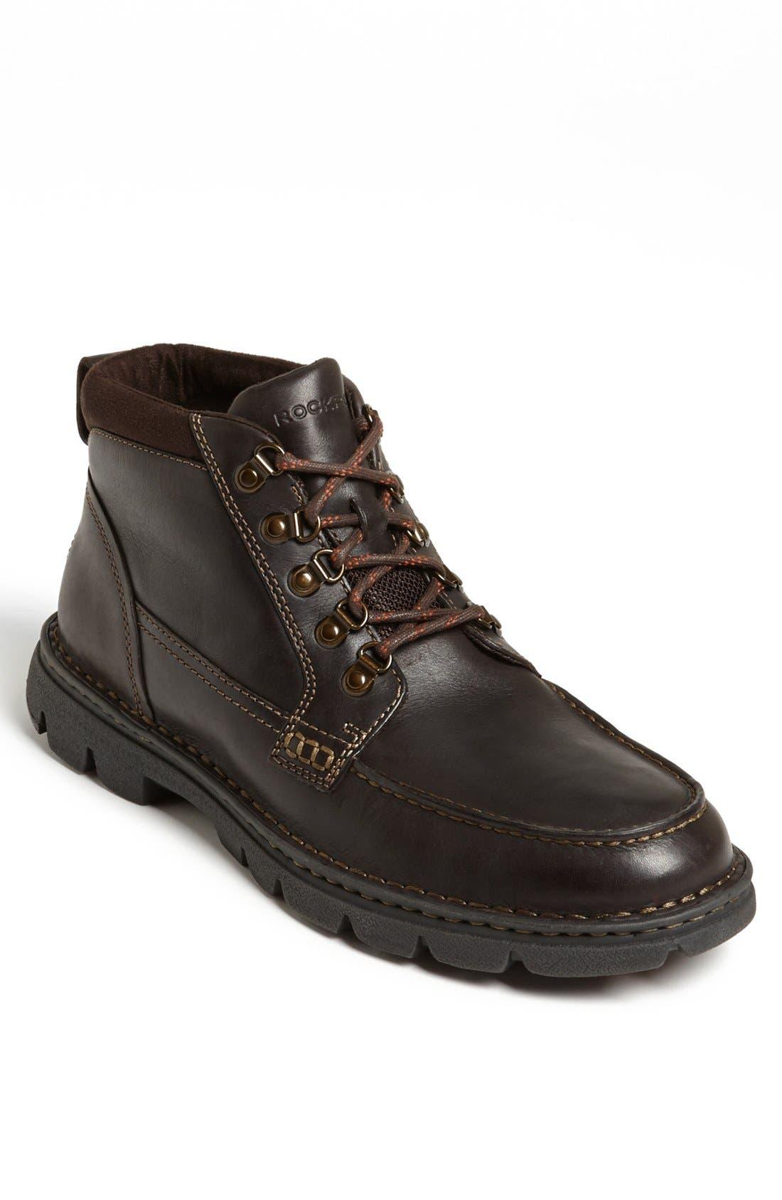 'RocSports Rugged' Moc Toe Boot,                         Main,                         color, 200