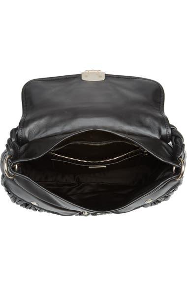 Miu Miu Matelassé Lambskin Leather Shoulder Bag  0e71568c6e34f