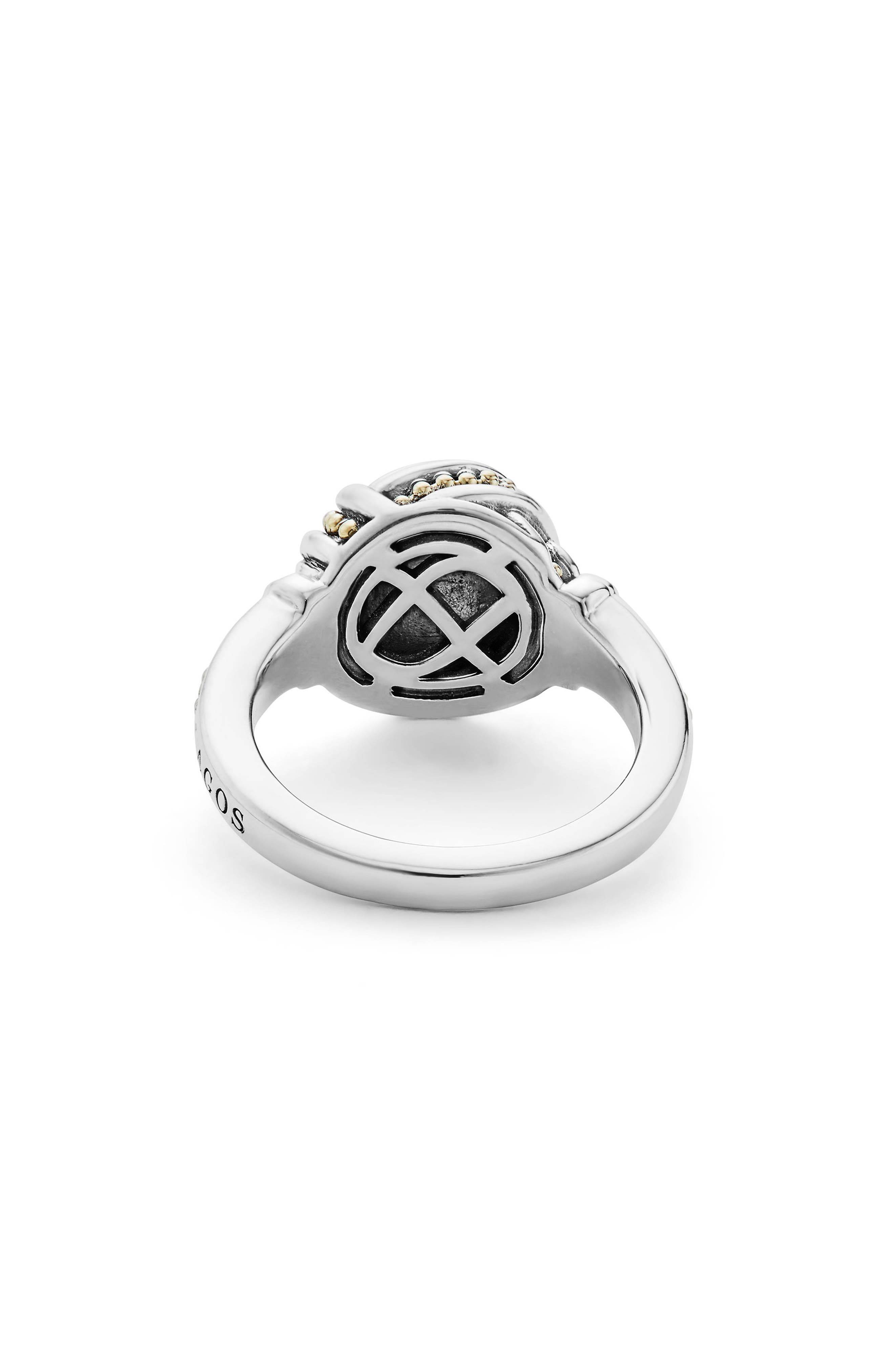 Small Round Ring,                             Alternate thumbnail 3, color,                             SILVER/ GOLD