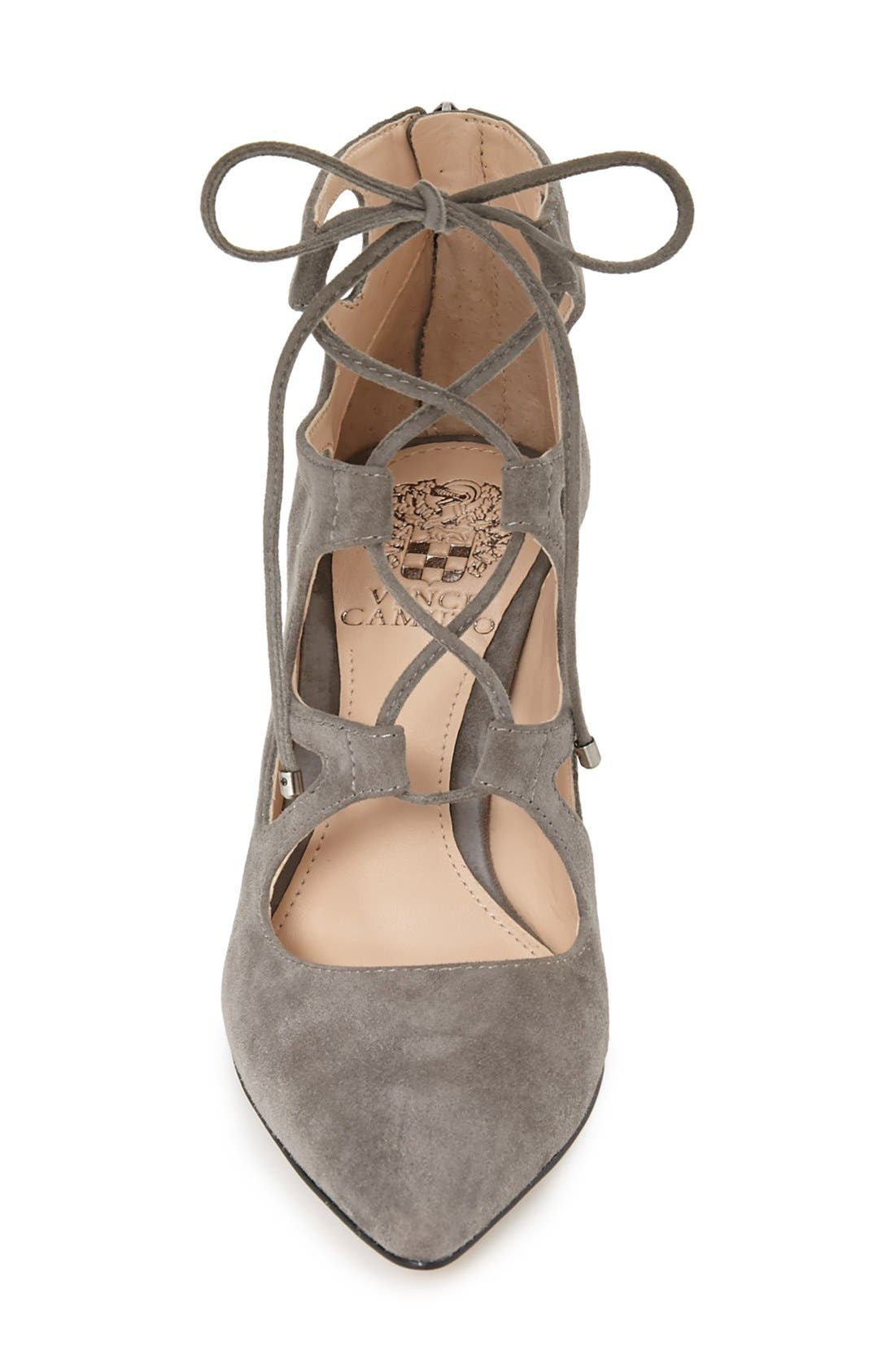 'Bodell' Lace Up Pump,                             Alternate thumbnail 7, color,